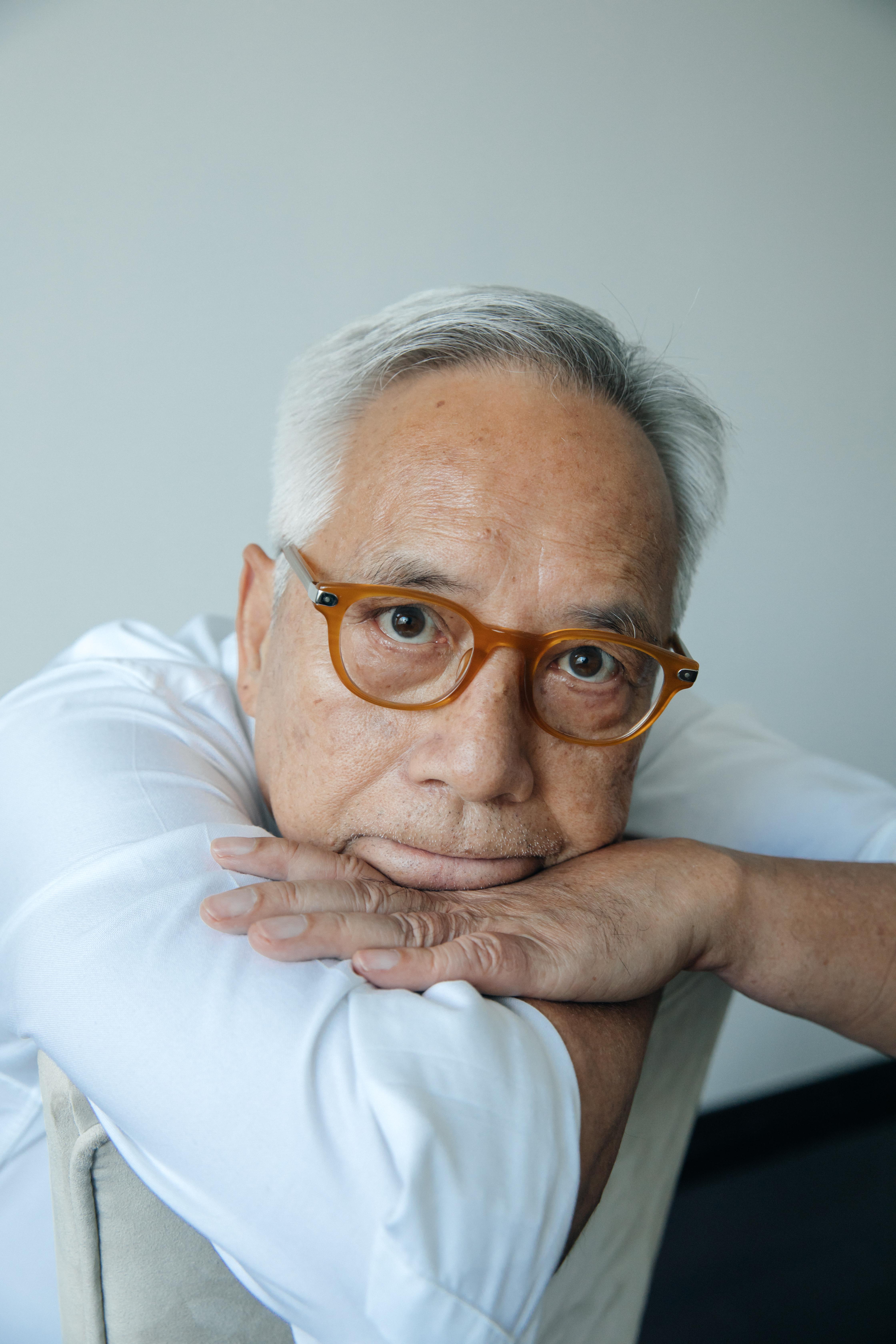Liu Heung Shing in his studio in Shanghai.