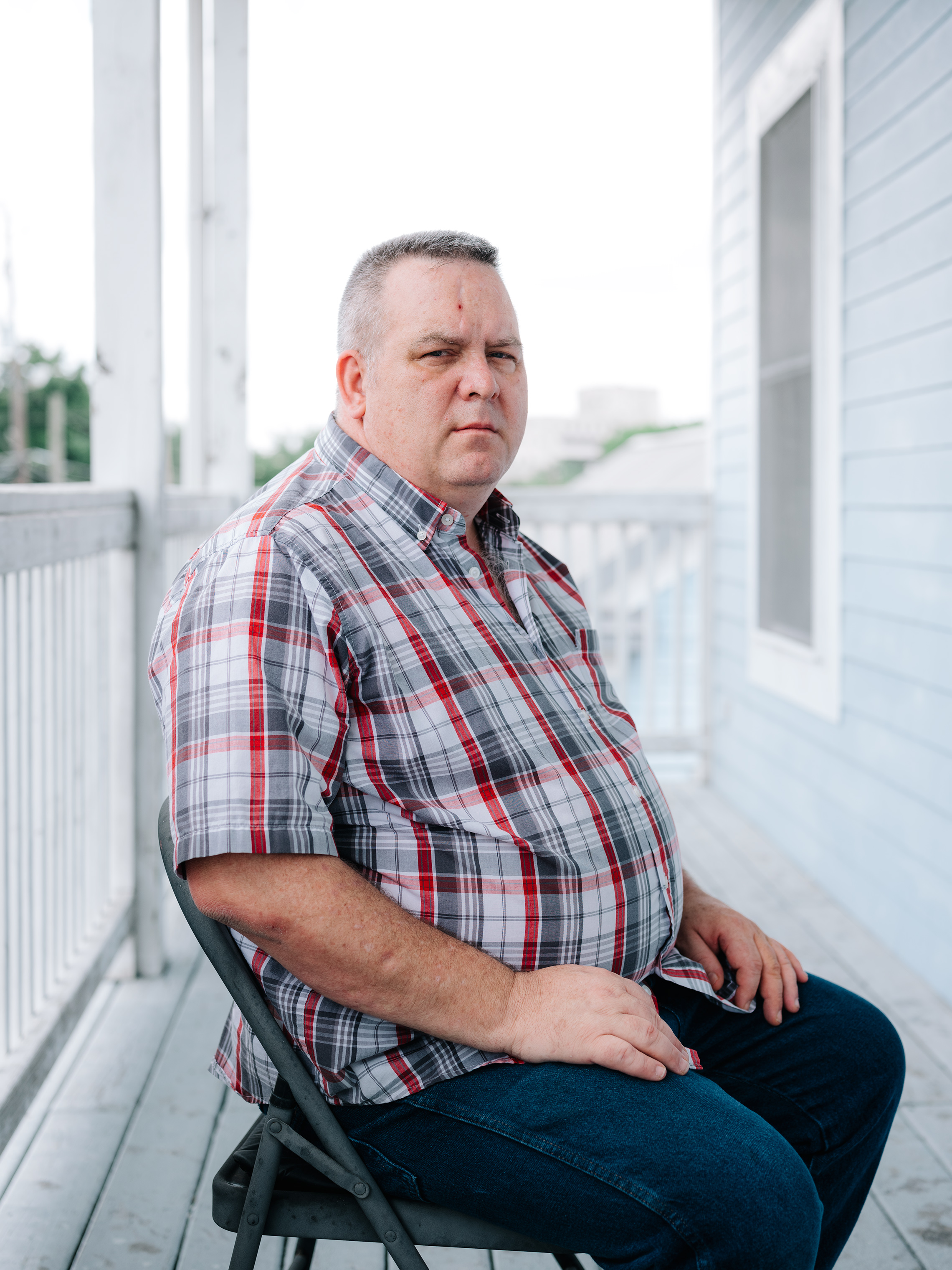 "James Kretschmer, 56, was abused by his Scoutmaster for a period of four to six months. ""I've been married and divorced four times. And I will stand up and say right now it's probably because of the simple fact that I built a shell to protect myself because of the trauma,"" he says."