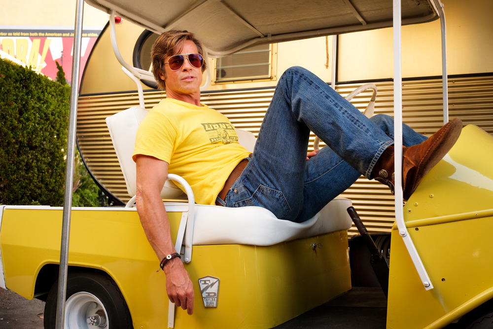 "Brad Pitt stars in Columbia Pictures ""Once Upon a Time in Hollywood"