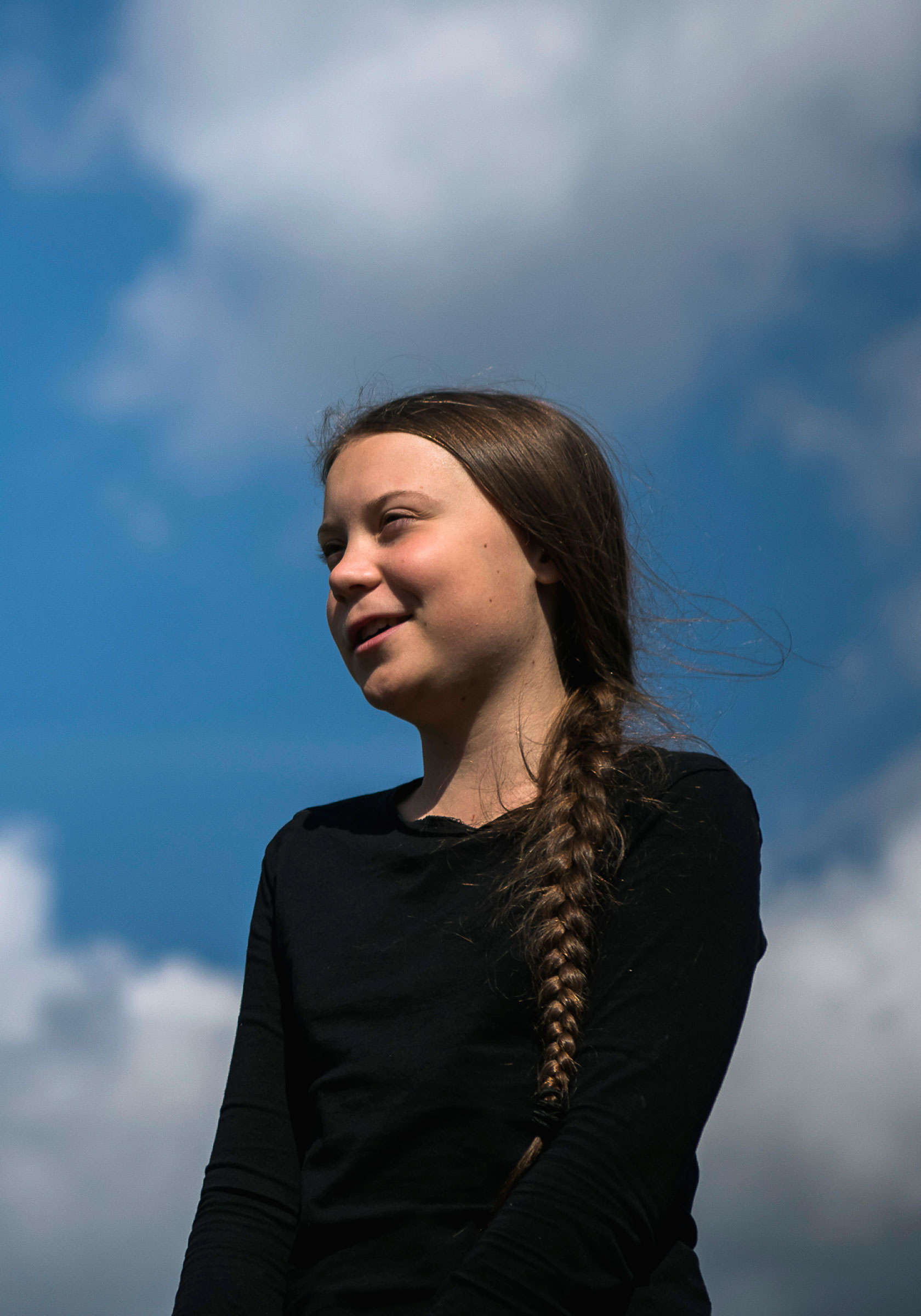Greta Thunberg, the 16-year-old Swedish climate activist, is interviewed ahead of the  Global Strike For Future  movement on a global day of student protests aiming to spark world leaders into action on climate change in Stockholm, Sweden on May 24, 2019.
