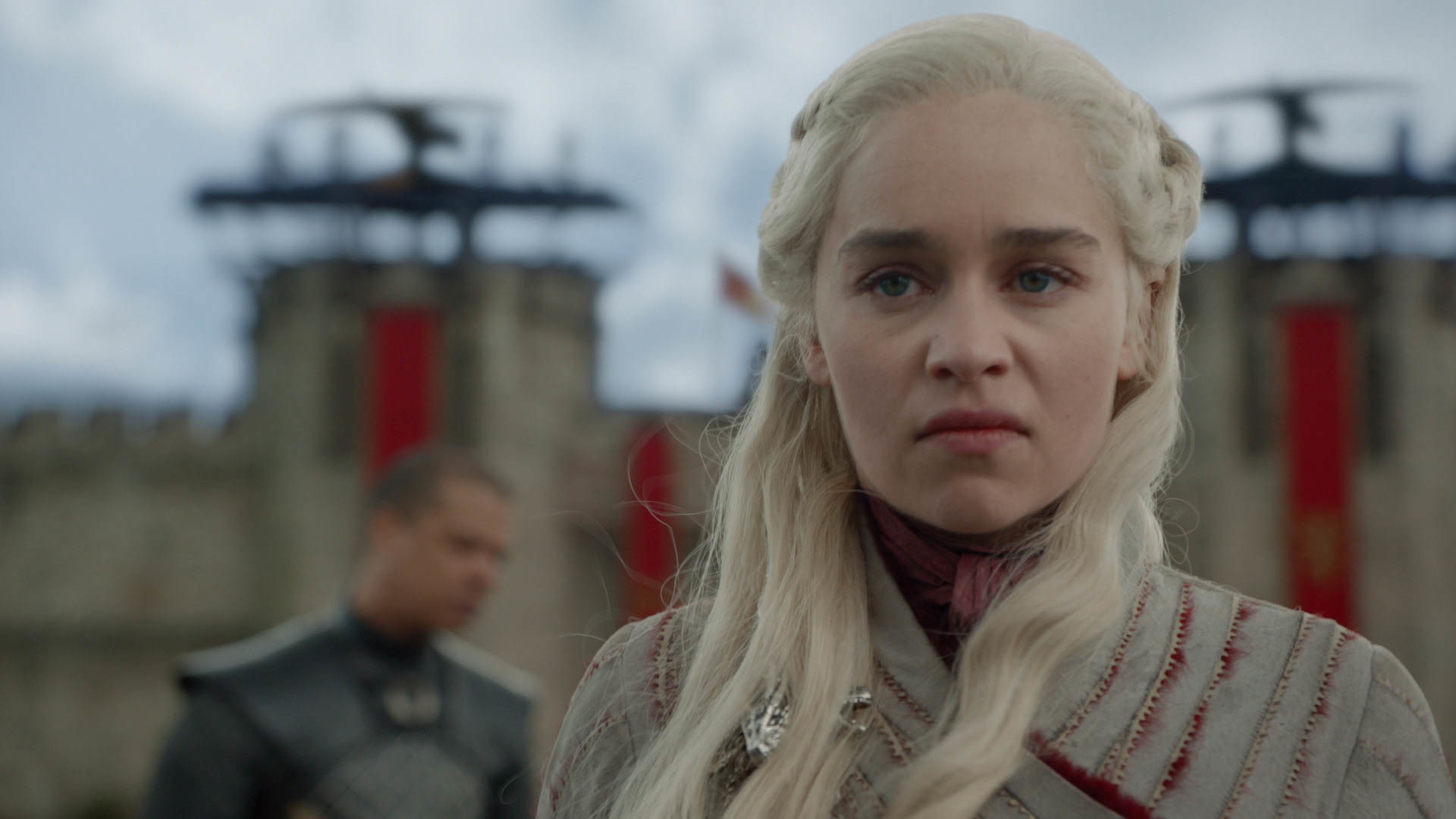 Daenerys reacts to the death of a key character in Game of Thrones season 8 episode four