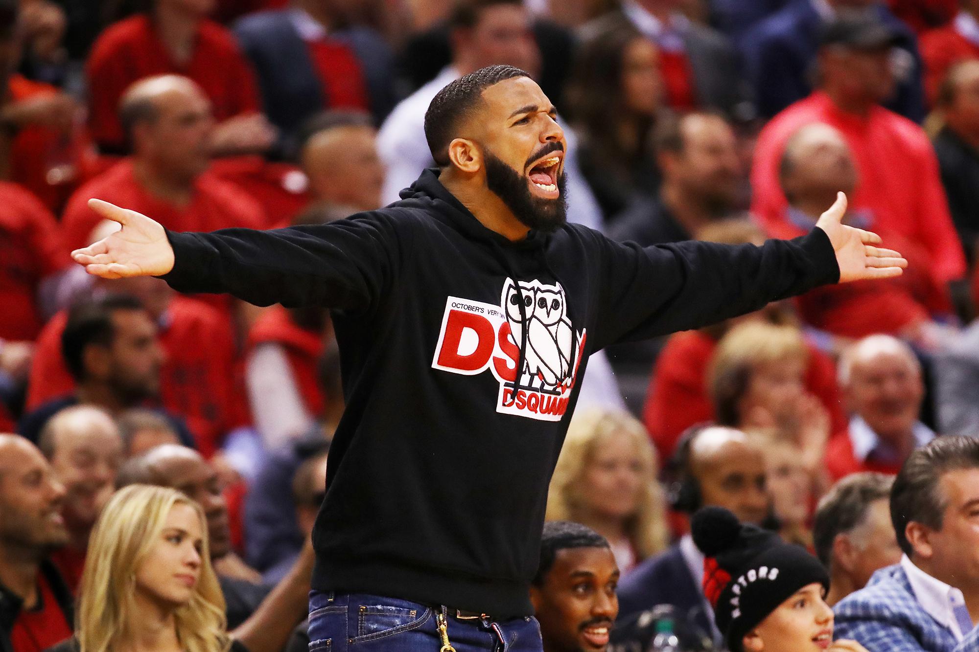 Raptors Superfan Drake Gets Warning For 2019 Nba Playoffs Time