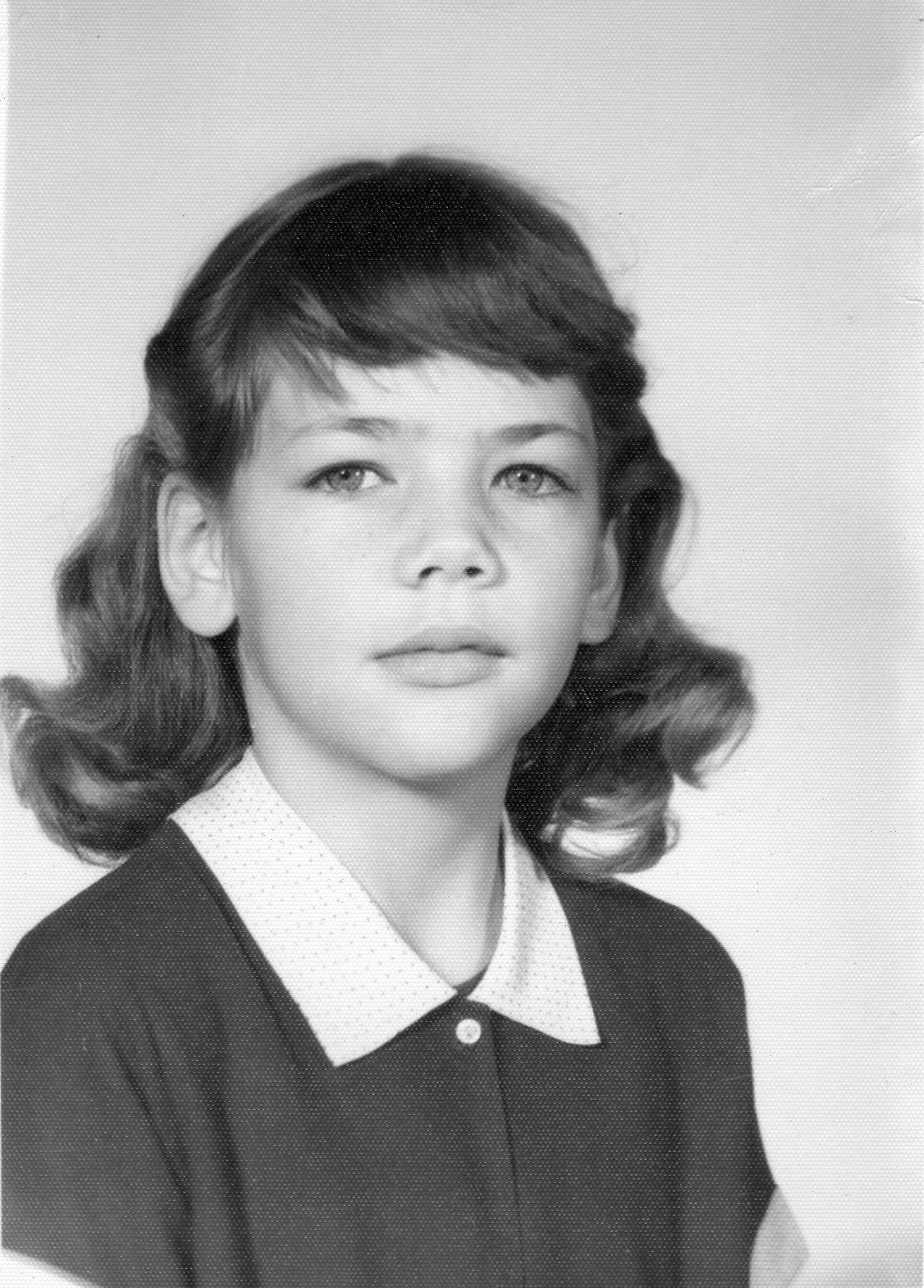 Warren's third-grade school photo.
