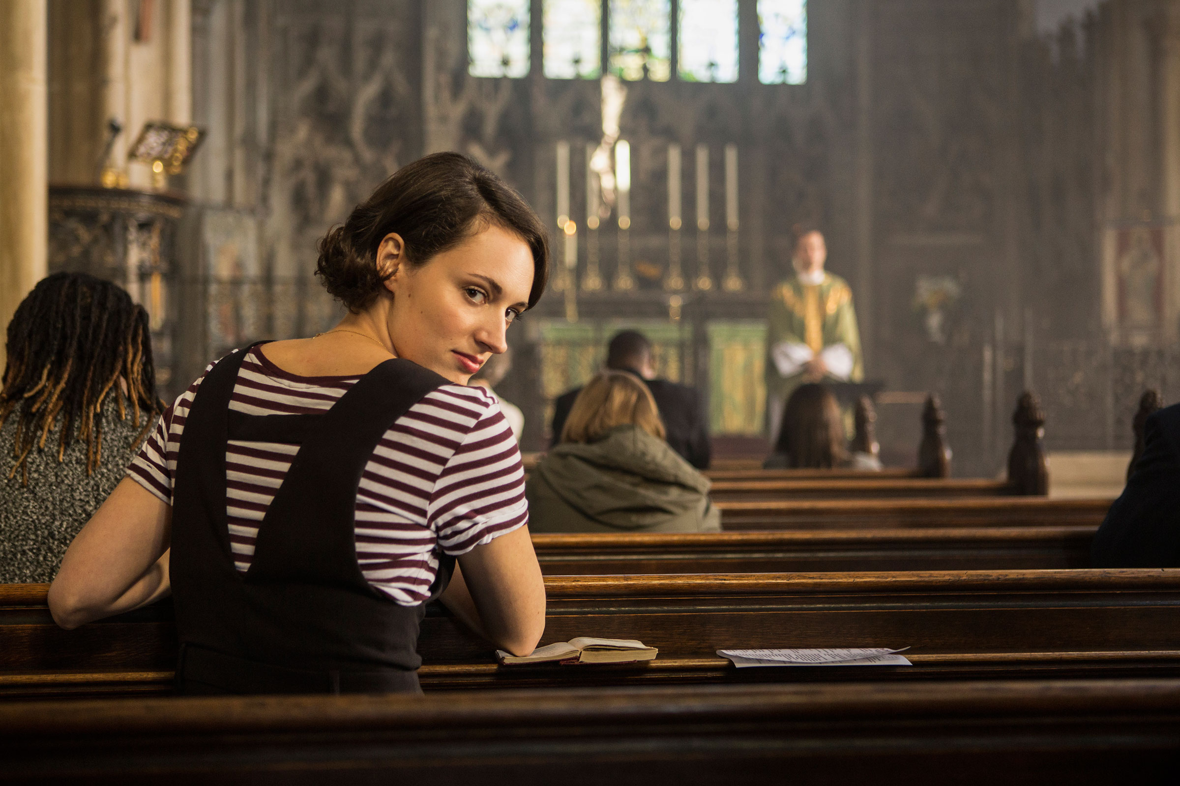 In Fleabag's second season, creator and star Phoebe Waller-Bridge comes to Jesus