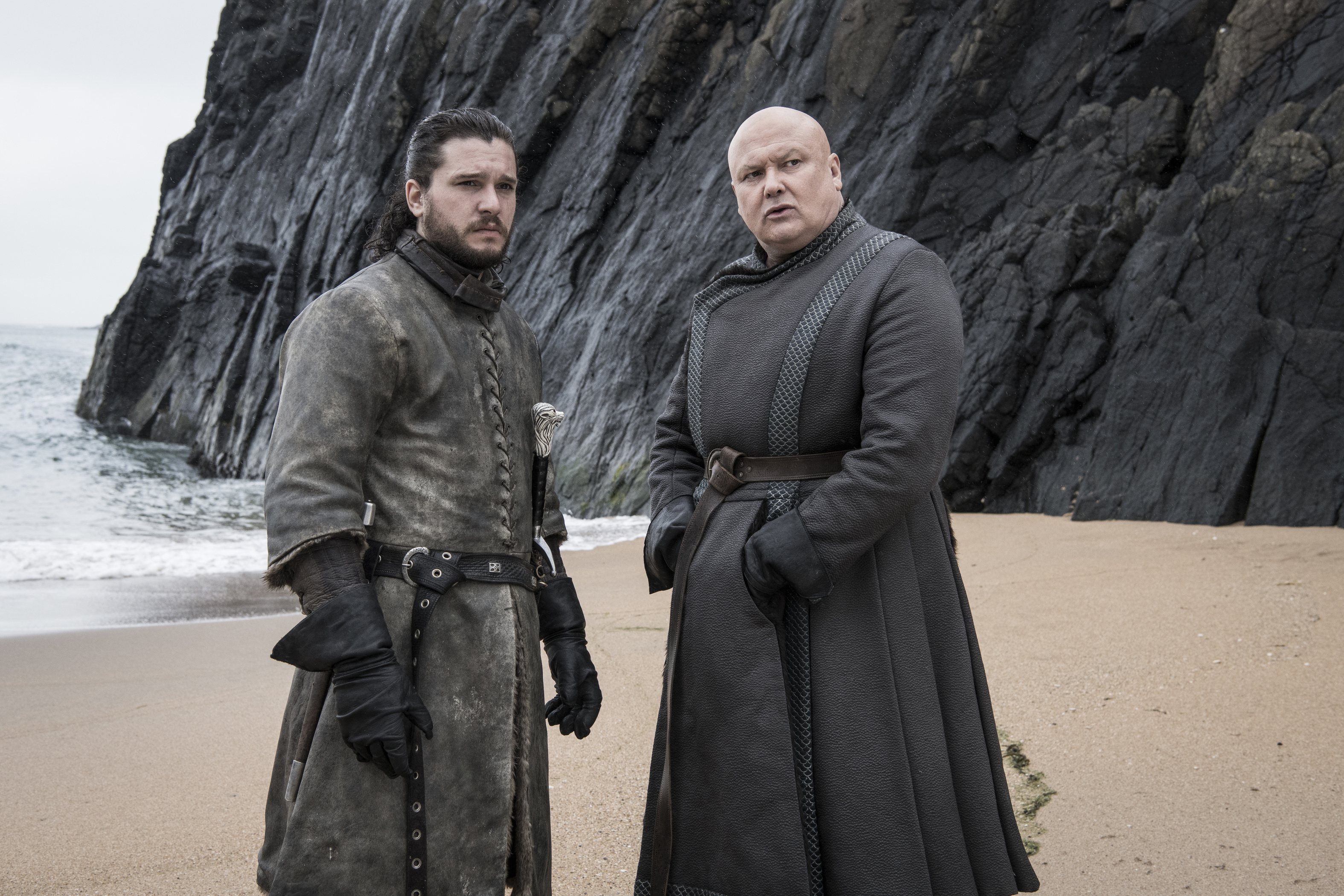 Kit Harington, Conleth Hill