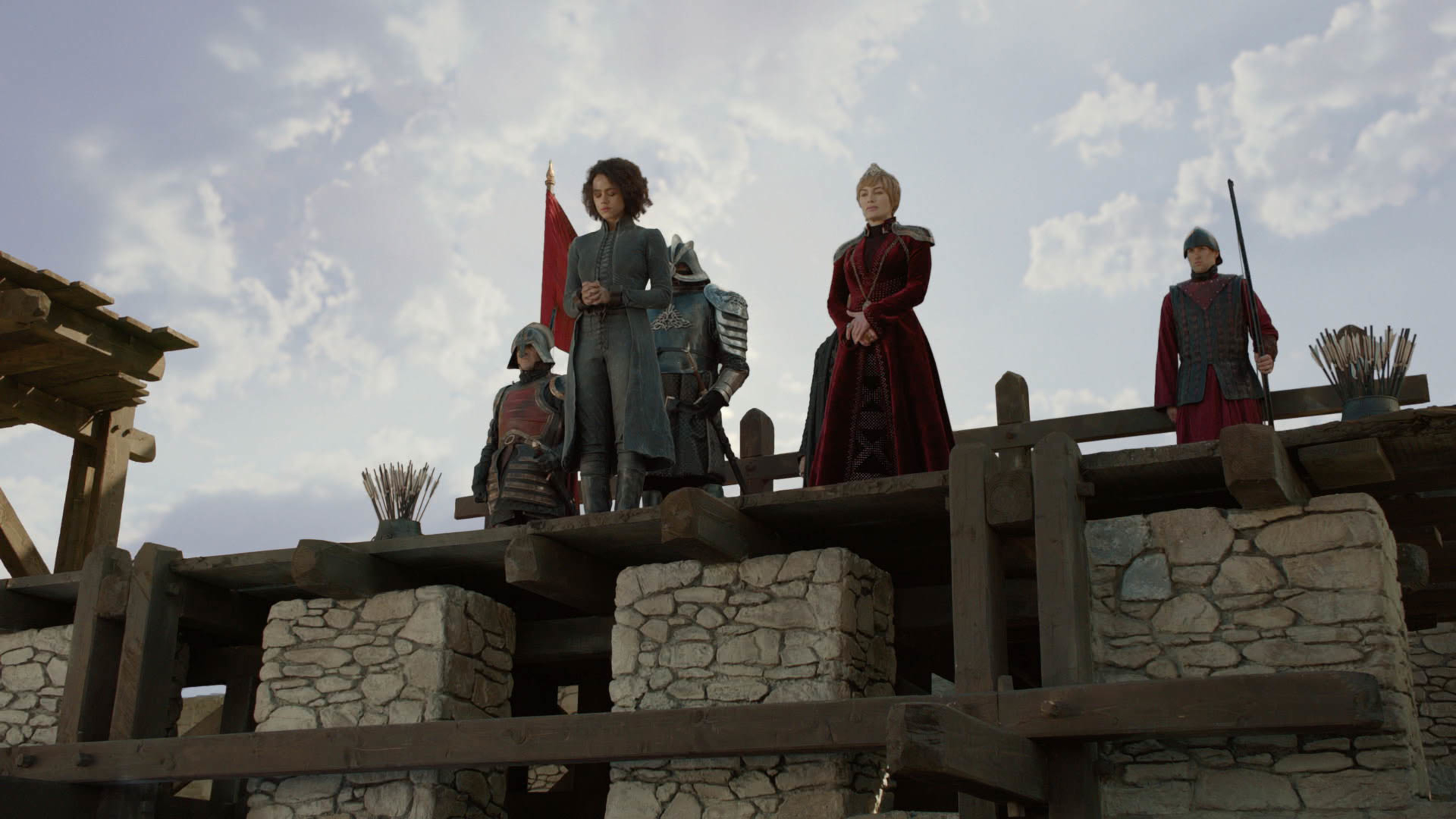 Missandei awaits her fate on Game of Thrones season eight episode 4