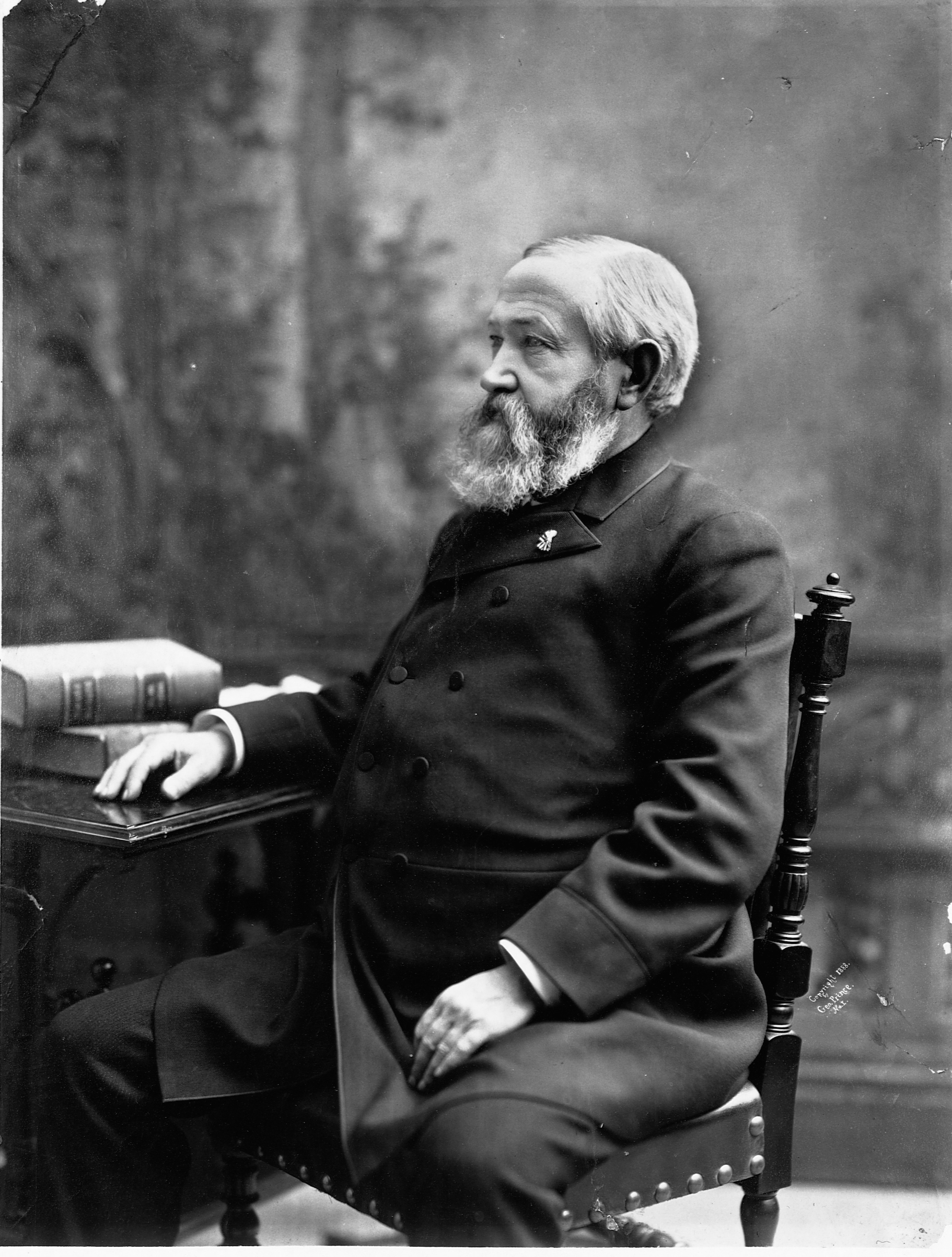 Benjamin Harrison (1833-1901) served as President of the United States from 1889 to 1893.