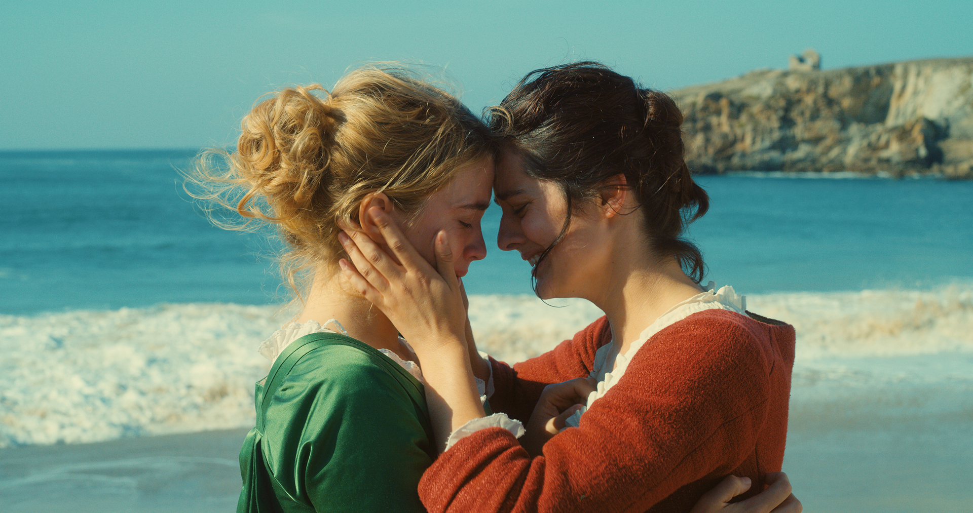 Adèle Haenel and Noémie Merlant in 'Portrait of a Lady on Fire.'