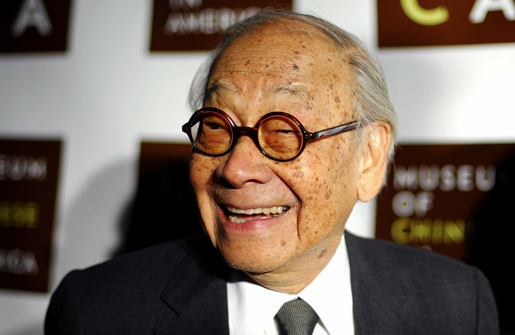 Architect I.M. Pei attends the Museum of Chinese in America 30th Anniversary Gala at Capitale on December 16, 2009.