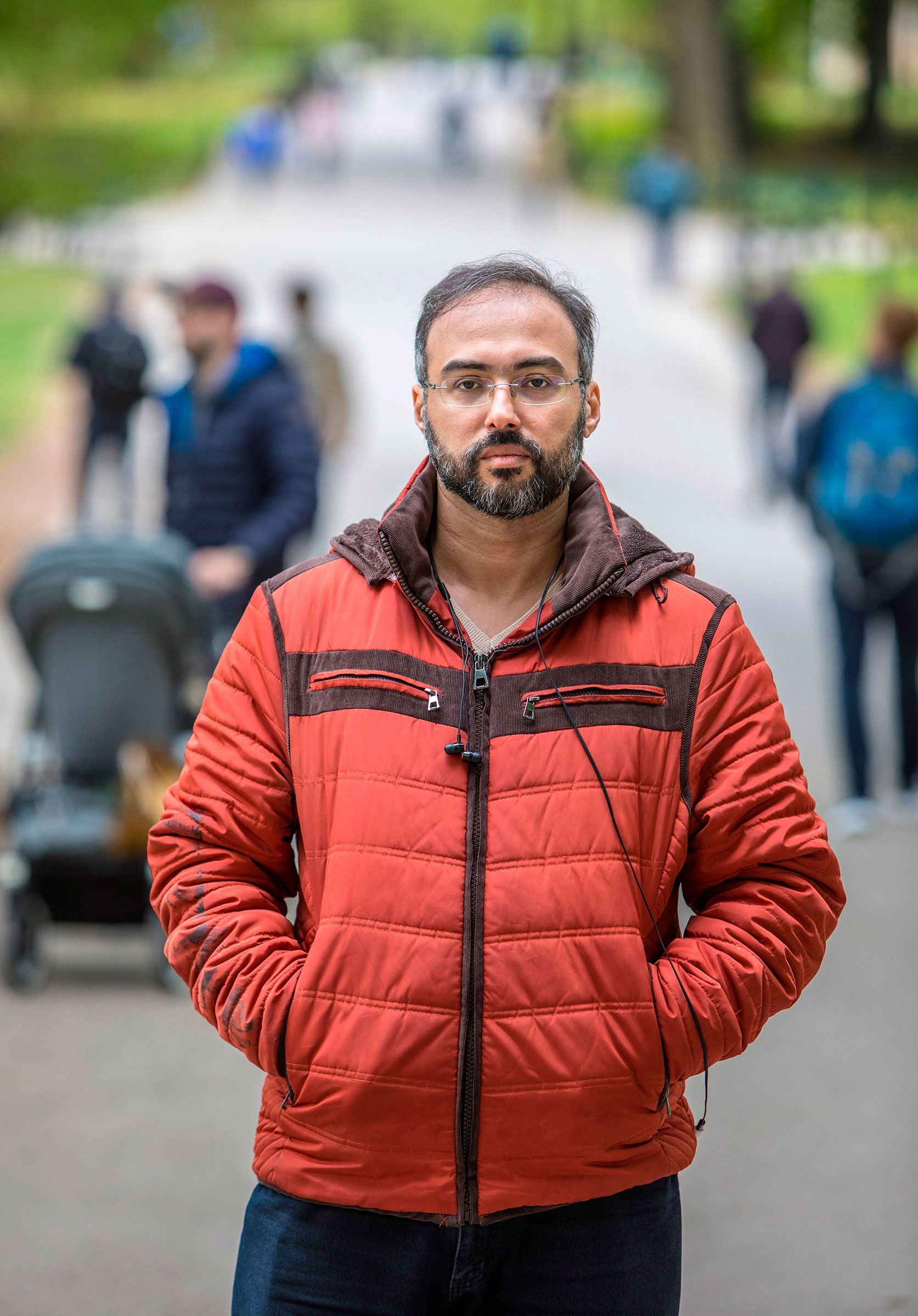 Iyad Baghdadi From asylum in Norway, the Arab sping activist presses on with projects to undo autocrats' malign influence in both social and traditional media