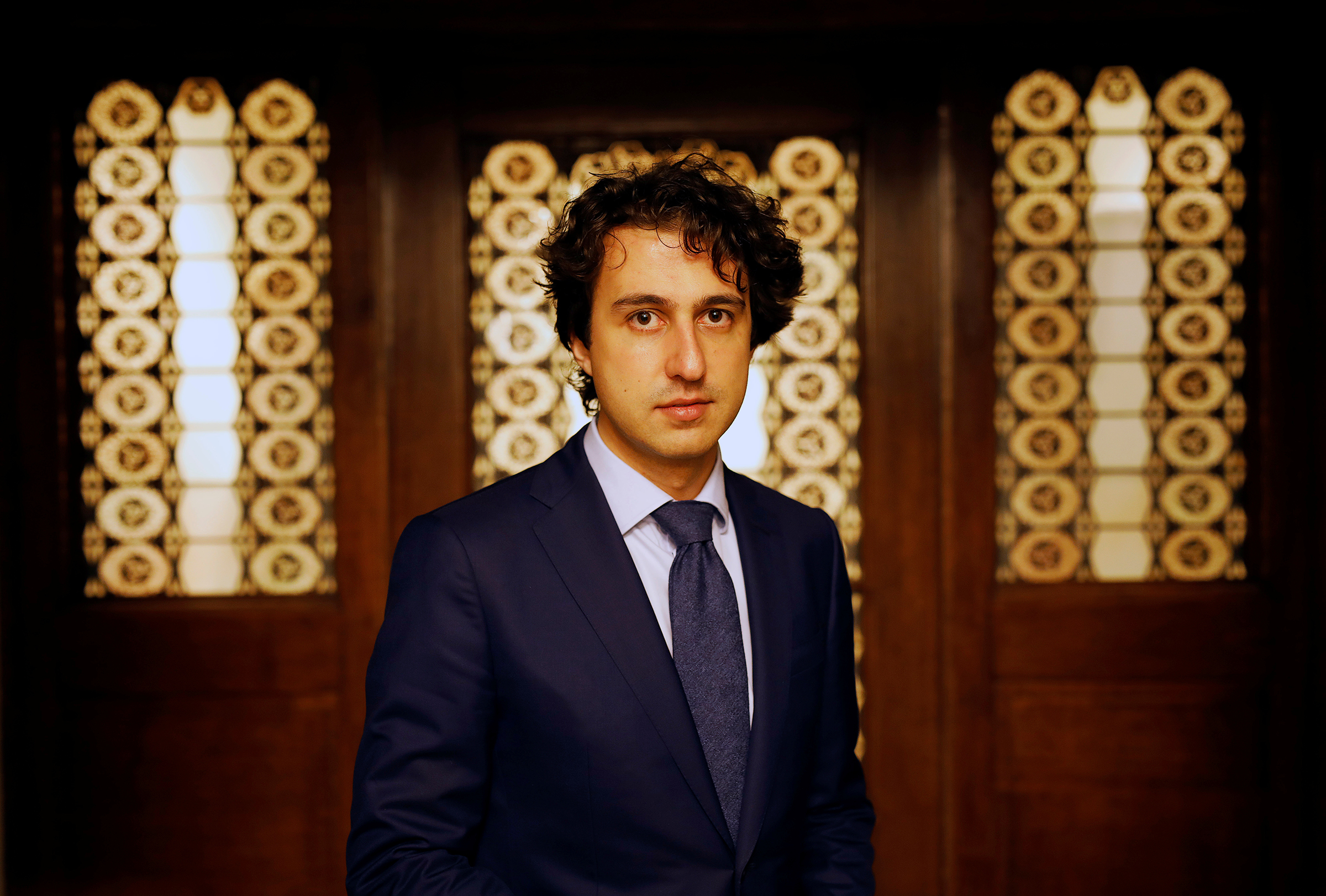 Klaver, photographed in the Hague in March 2017, helped push the Dutch parliament to adopt one of the world's toughest climate bills in 2018.