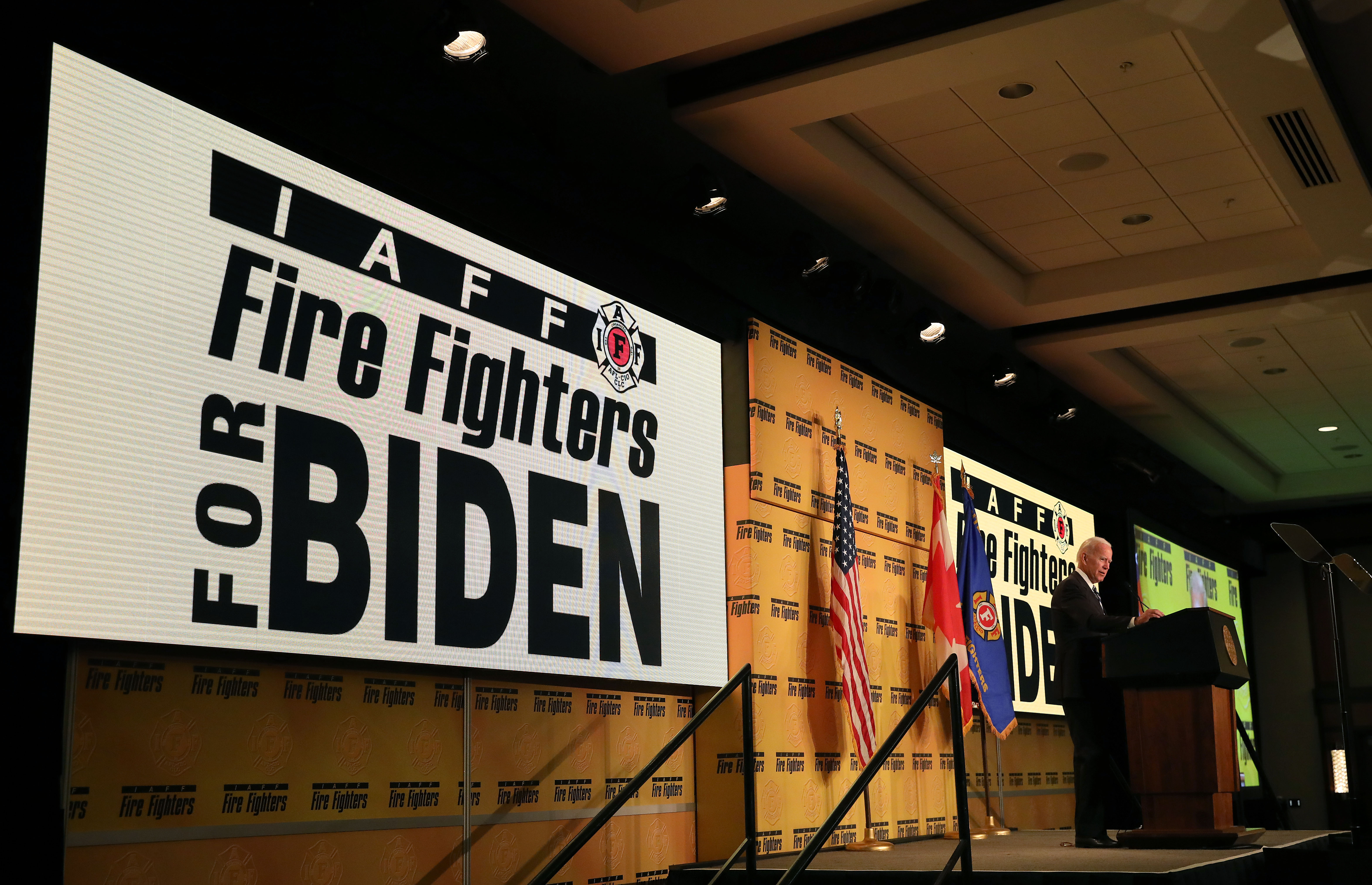 Firefighter Union Leader Responds To Attacks From President Trump Time
