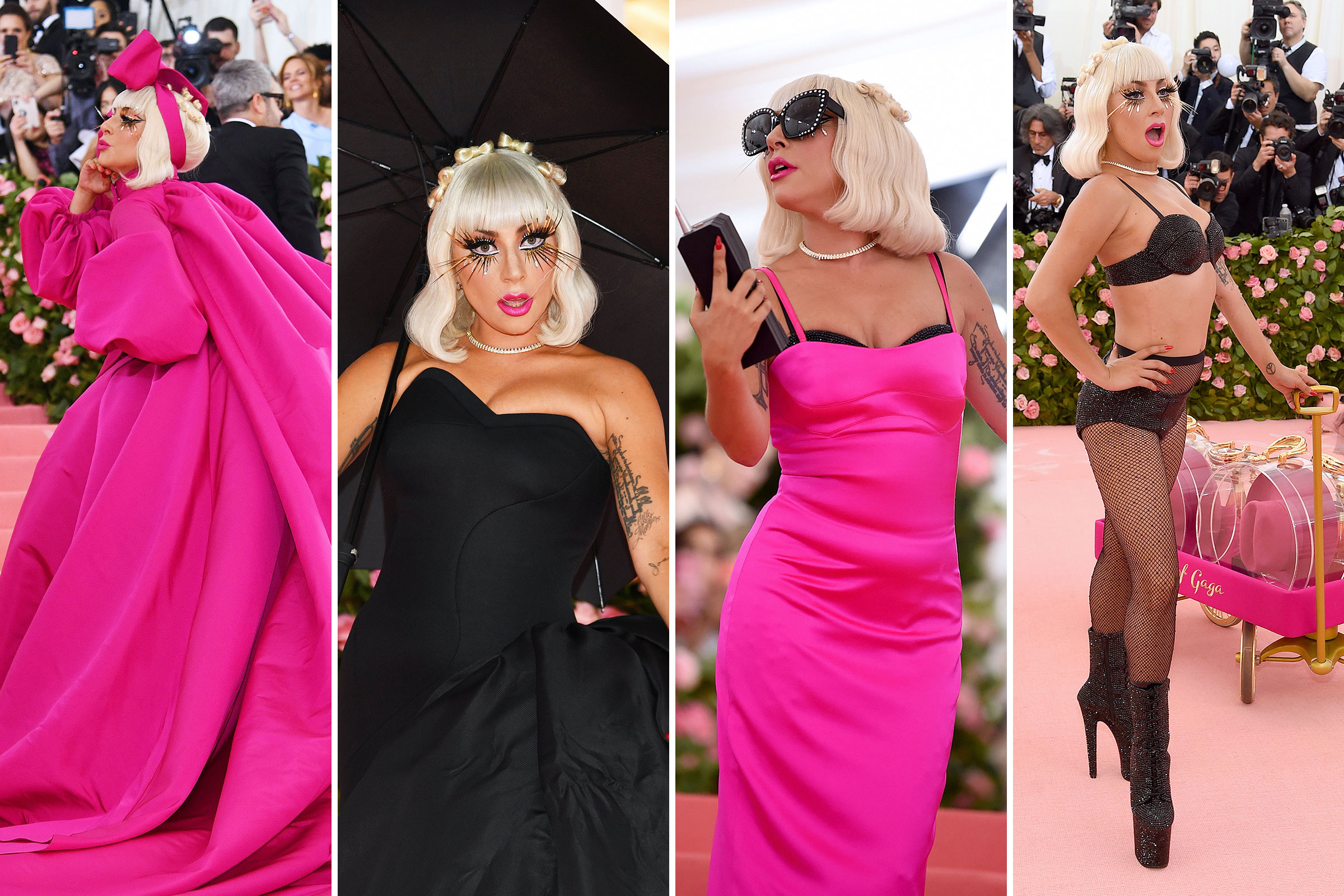 Lady Gaga attends The 2019 Met Gala Celebrating Camp: Notes on Fashion at Metropolitan Museum of Art in New York City on May 06, 2019.
