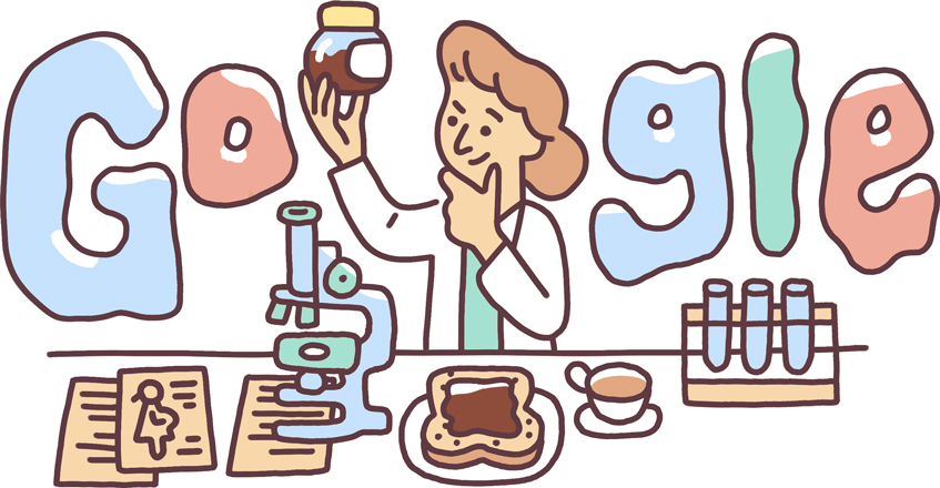 The Google Doodle on May 10, 2019 celebrated English scientist Lucy Wills