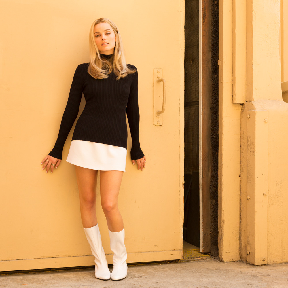 Margot Robbie as Sharon Tate in Quentin Tarantino's Once Upon A Time... in Hollywood.