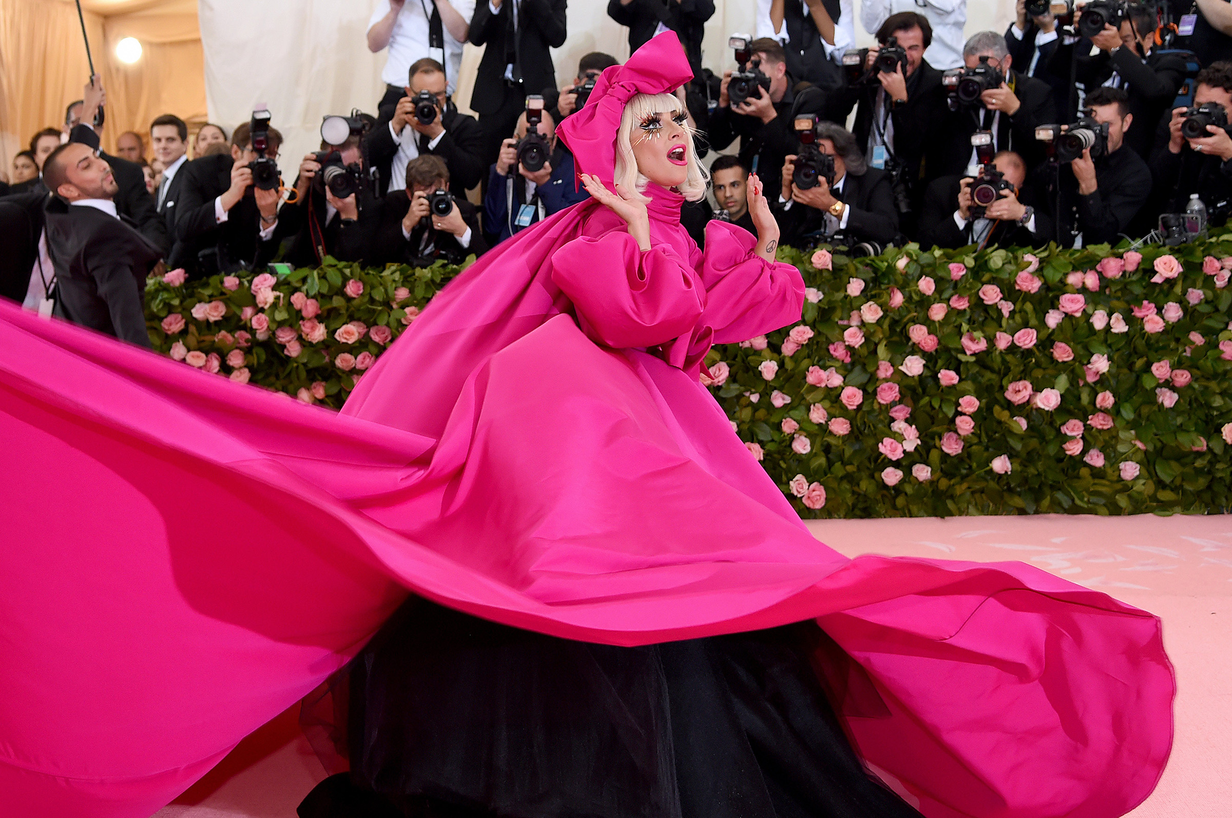 Lady Gaga attends The 2019 Met Gala Celebrating Camp: Notes on Fashionat Metropolitan Museum of Art in New York City on May 06, 2019.