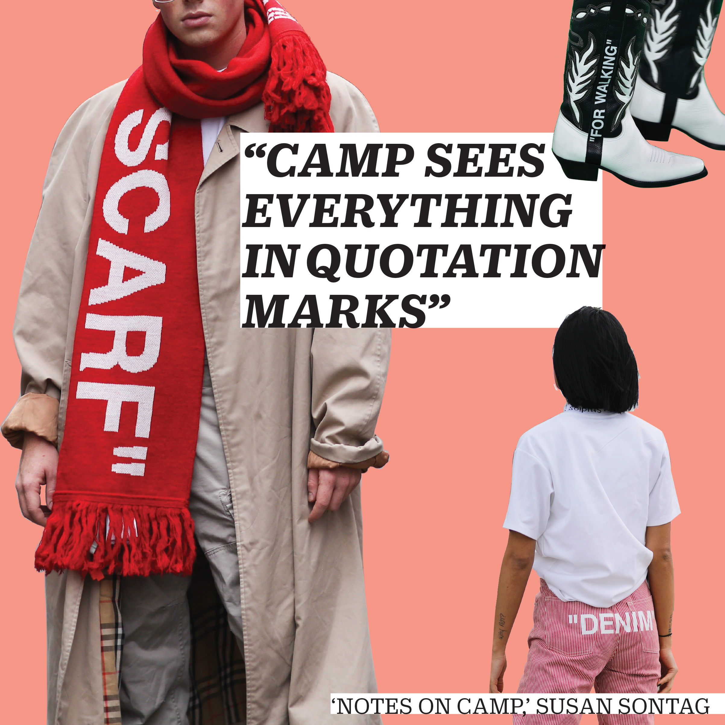 examples of camp fashion