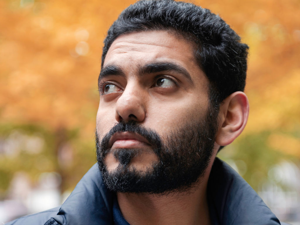Omar Abdulaziz poses for a portrait in Montreal. Abdulaziz, a 27-year-old Saudi opposition activist, is a close associate of the missing Saudi journalist Jamal Khashoggi.