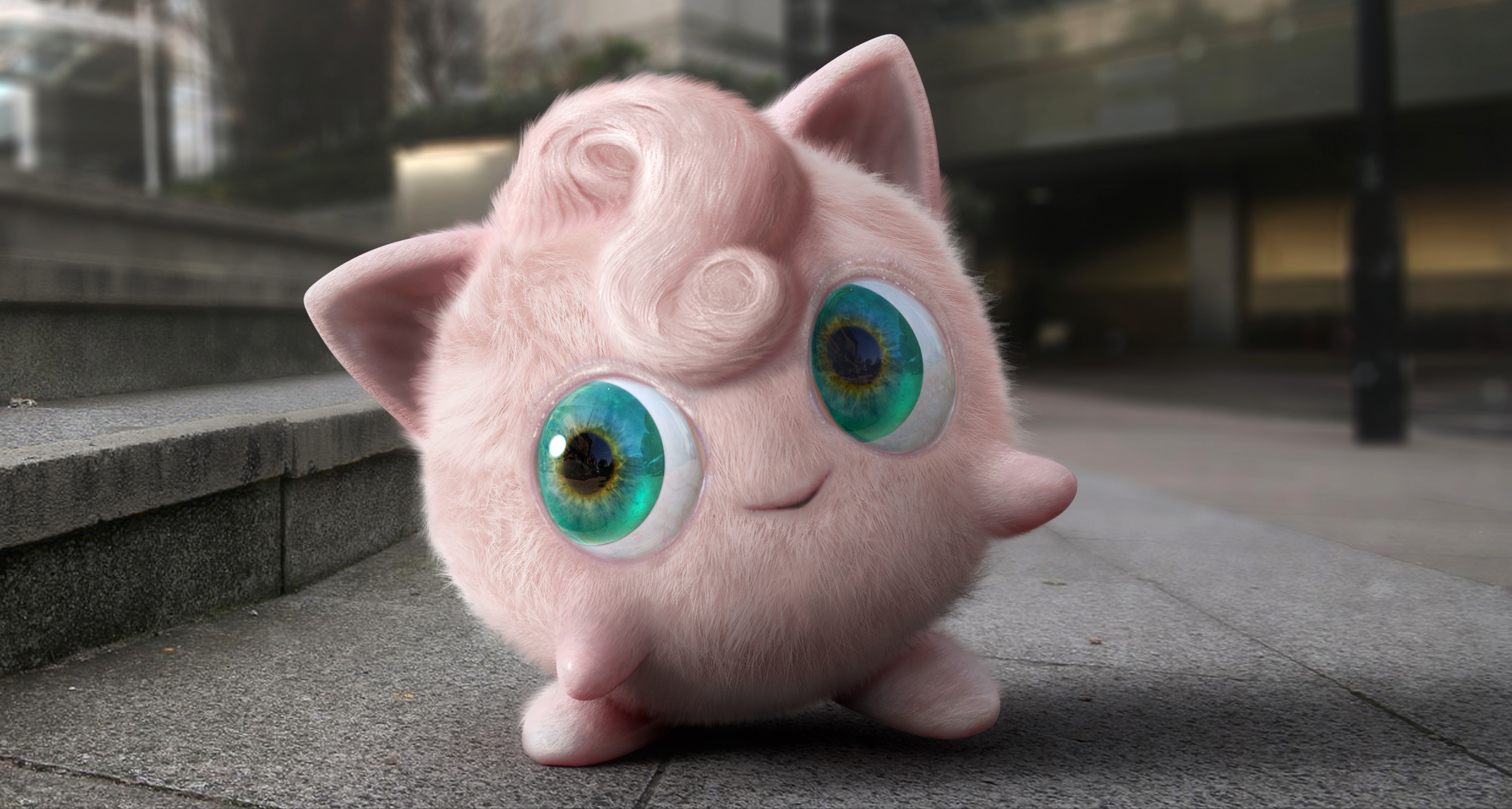 Concept art of Jigglypuff