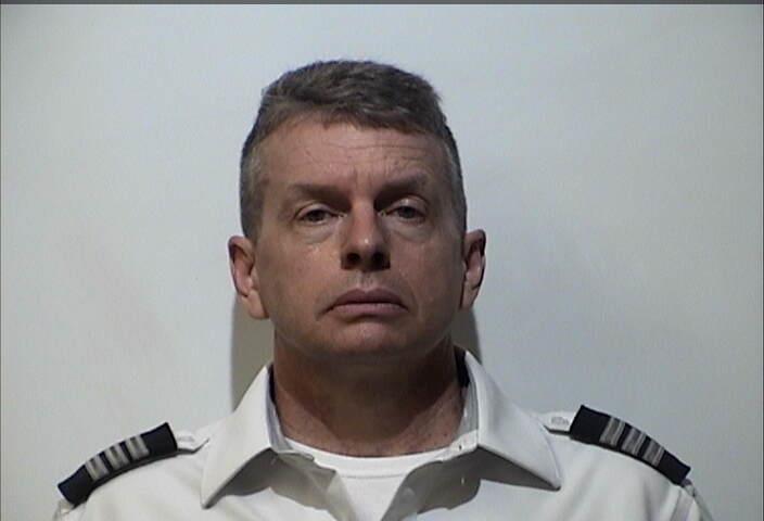A mugshot of Christian Richard Martin, taken at the Christian County Detention Center