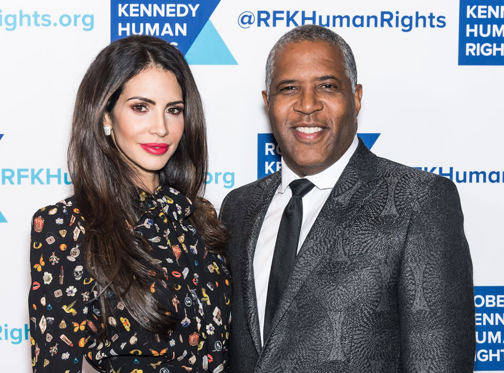 Hope Smith and Robert Smith attend the Robert F. Kennedy Human Rights Ripple of Hope Awards Dinner at the New York Hilton on December 13, 2017 in New York City.