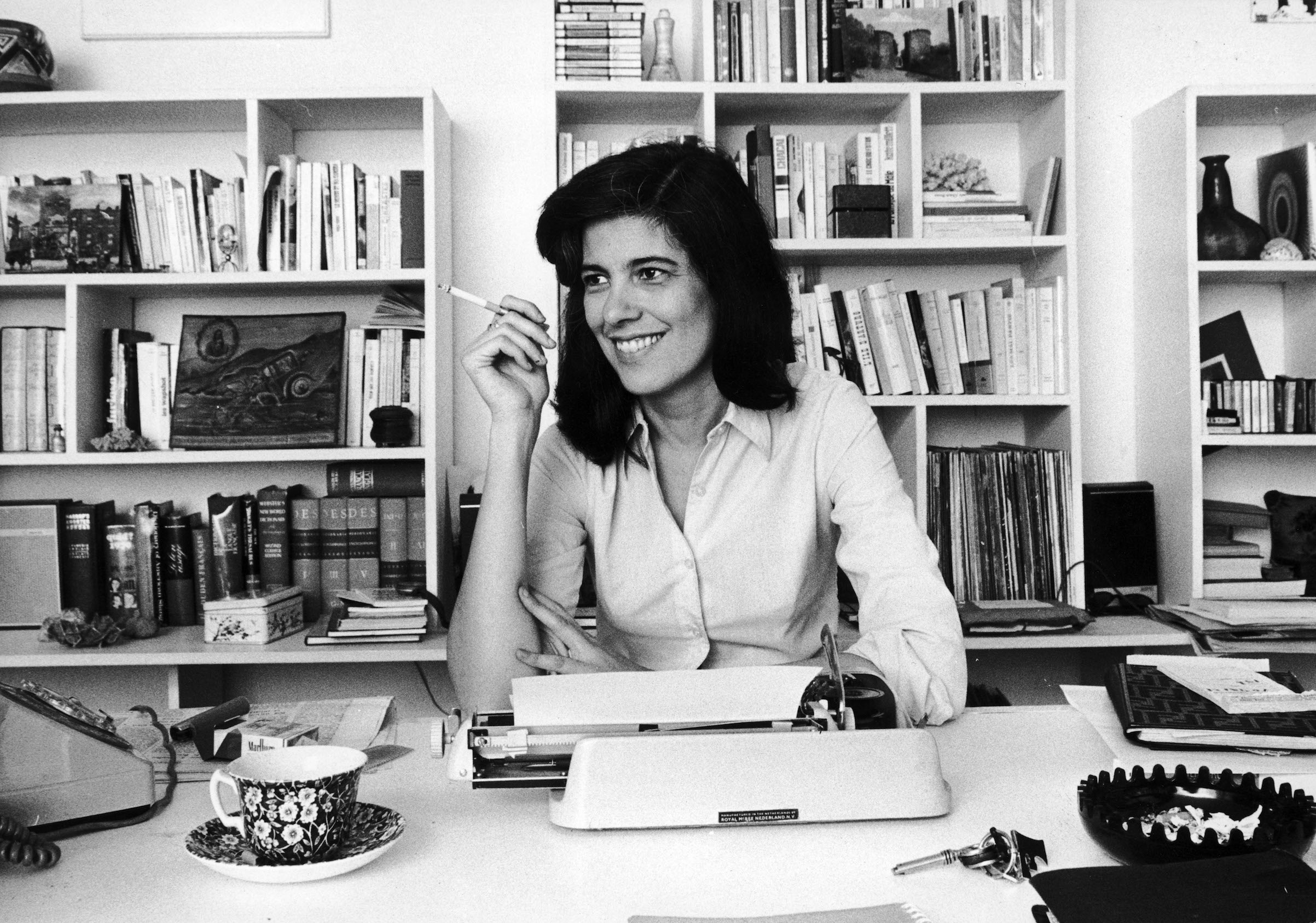 Susan Sontag, American writer, in France on Nov. 3, 1972