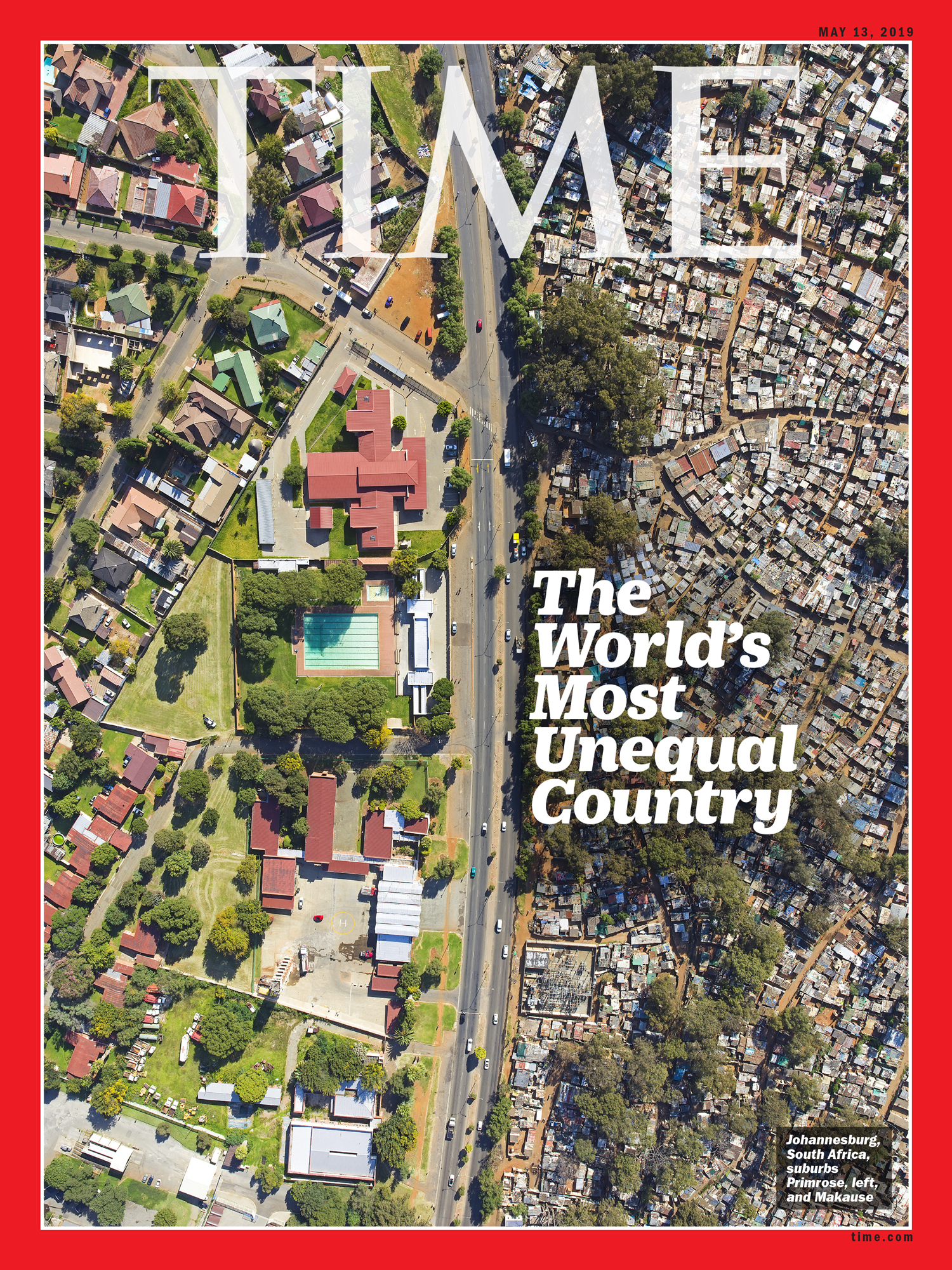 The Story Behind TIME's Cover on Inequality in South Africa | Time