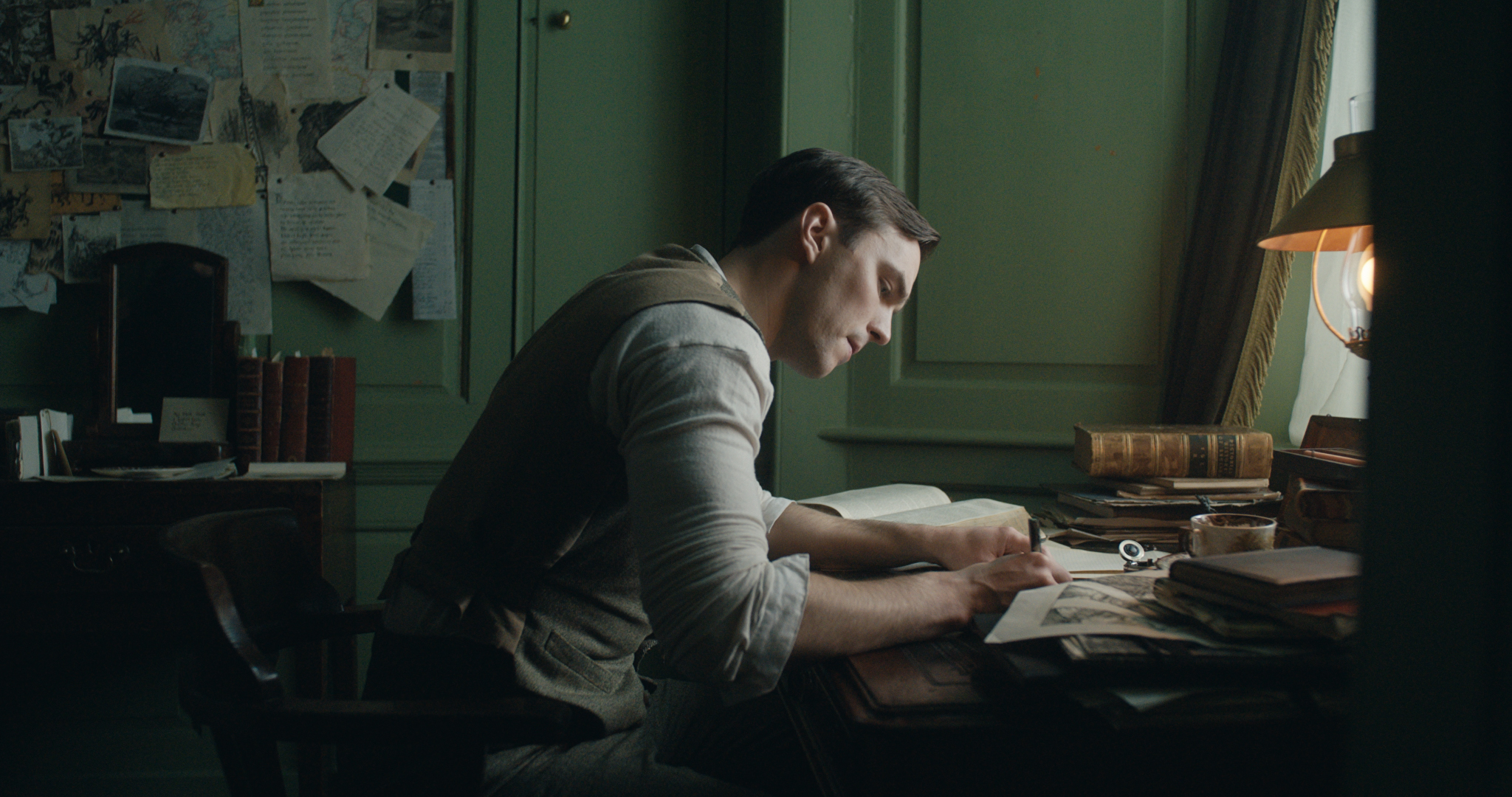 Nicholas Hoult in the film 'Tolkien.' © 2019 Twentieth Century Fox Film Corporation All Rights Reserved
