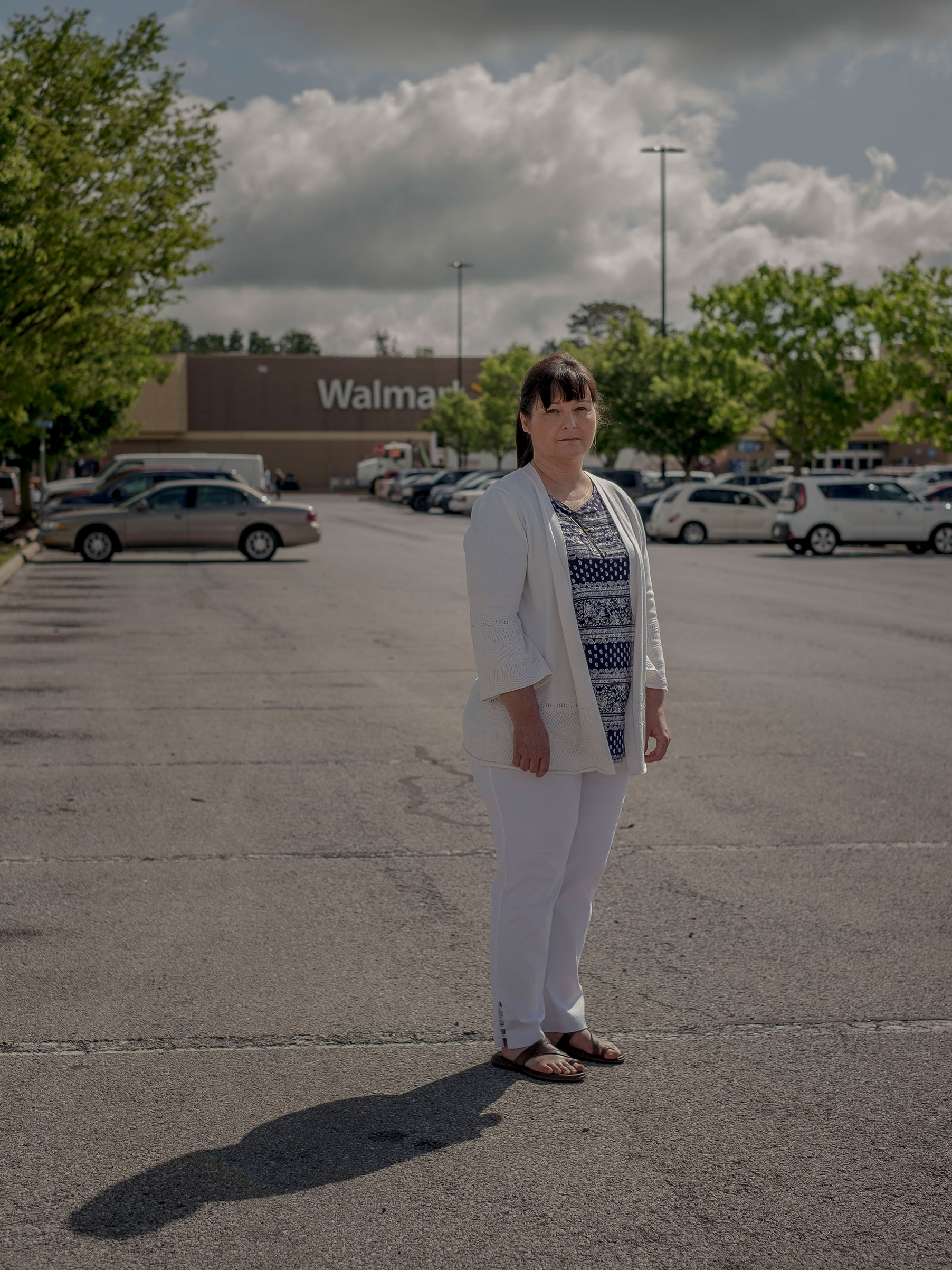 In a lawsuit filed against Walmart this month, Stephanie Chapman alleges that she was paid less than men in similar positions