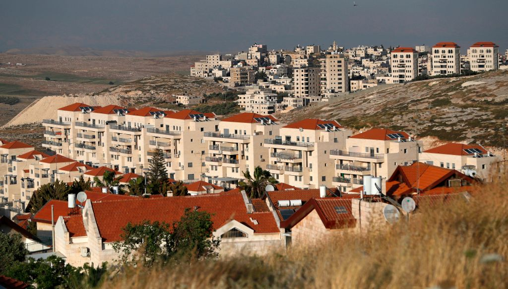 The Israeli settlement of Neve Yaakov in Himza, a district of the West Bank, on May 14, 2019.