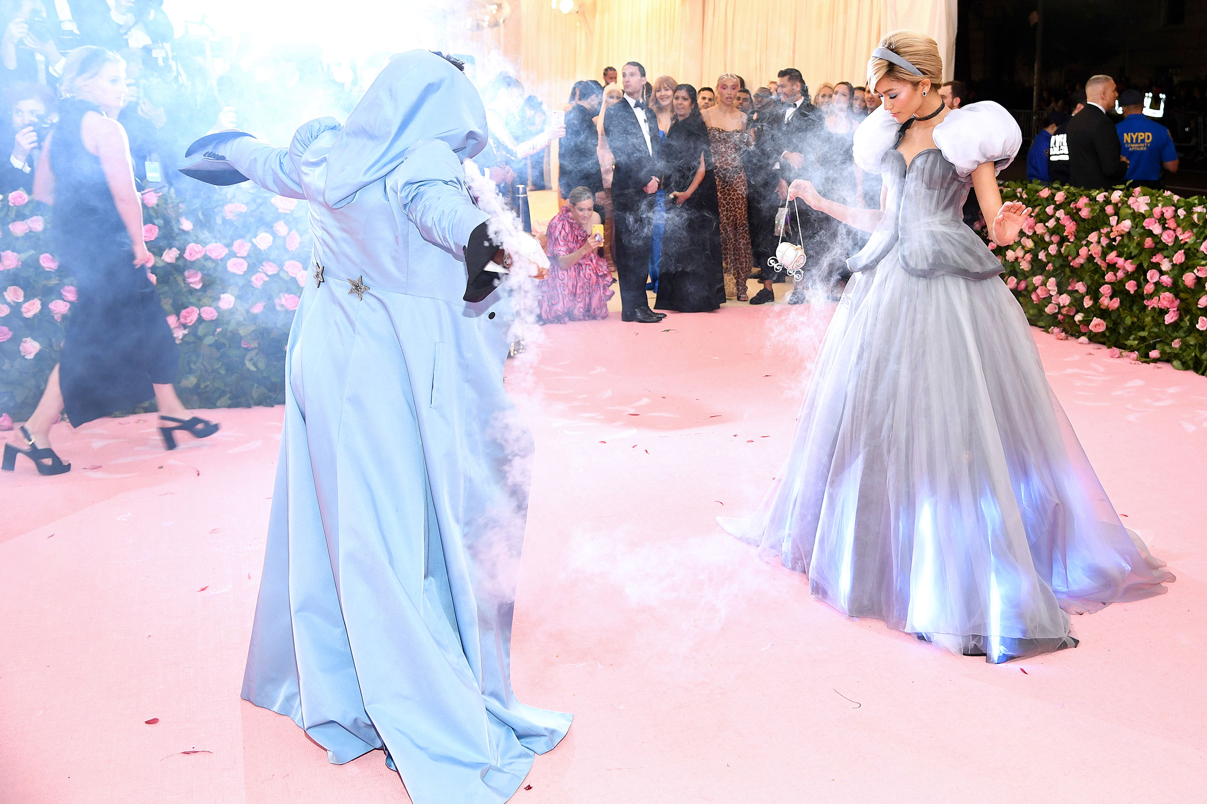 Law Roach (L) and Zendaya attend The 2019 Met Gala Celebrating Camp: Notes on Fashion at Metropolitan Museum of Art on May 06, 2019 in New York City.