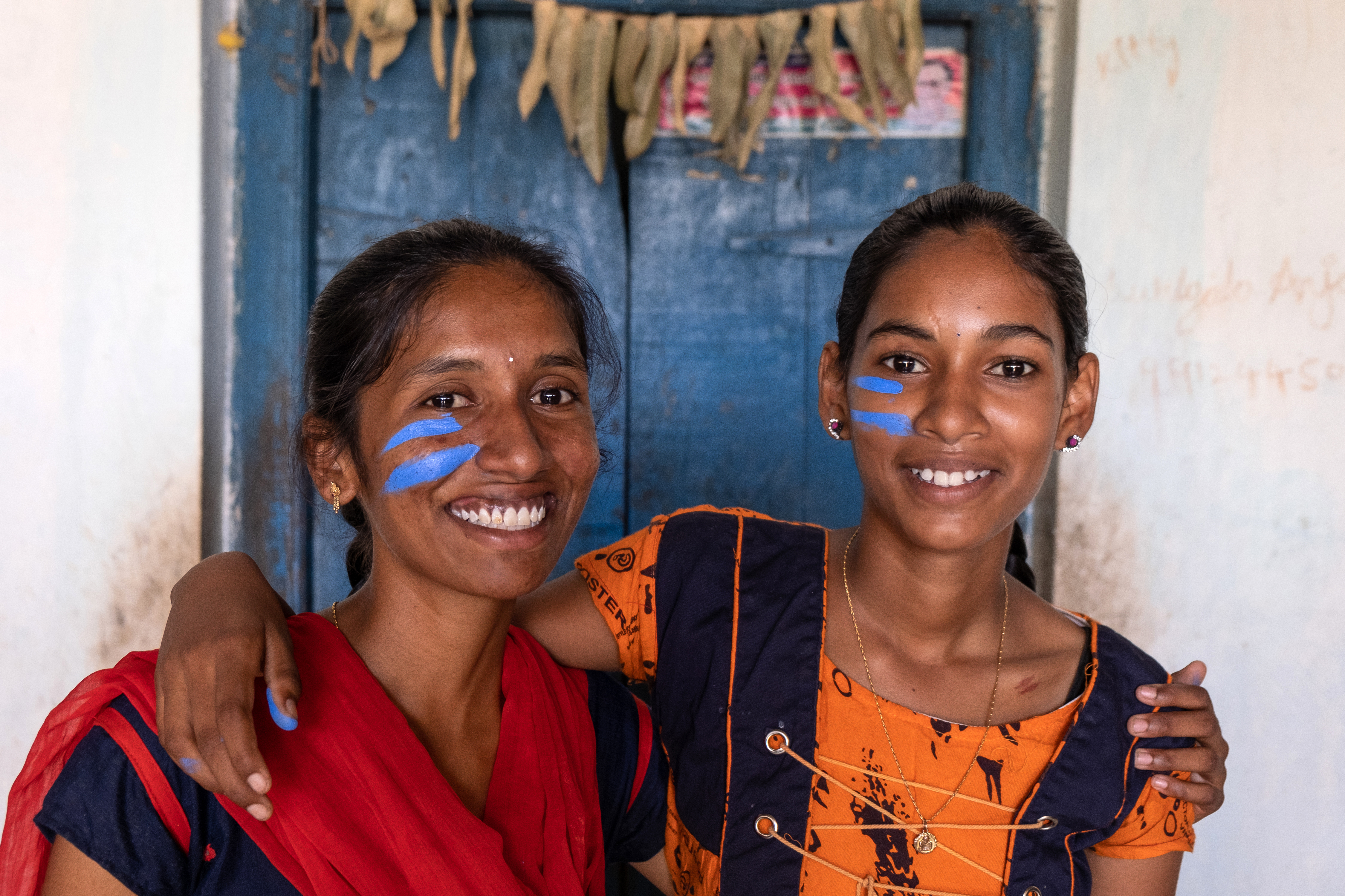 Sangeetha*, 19, lives with her widowed father, sister and grandparents in a remote village in India's Telangana state. Plan International observed that poverty, limited opportunities, and perceptions of protecting traditions and family honour – all continue to fuel the practice of child marriage among local communities.
