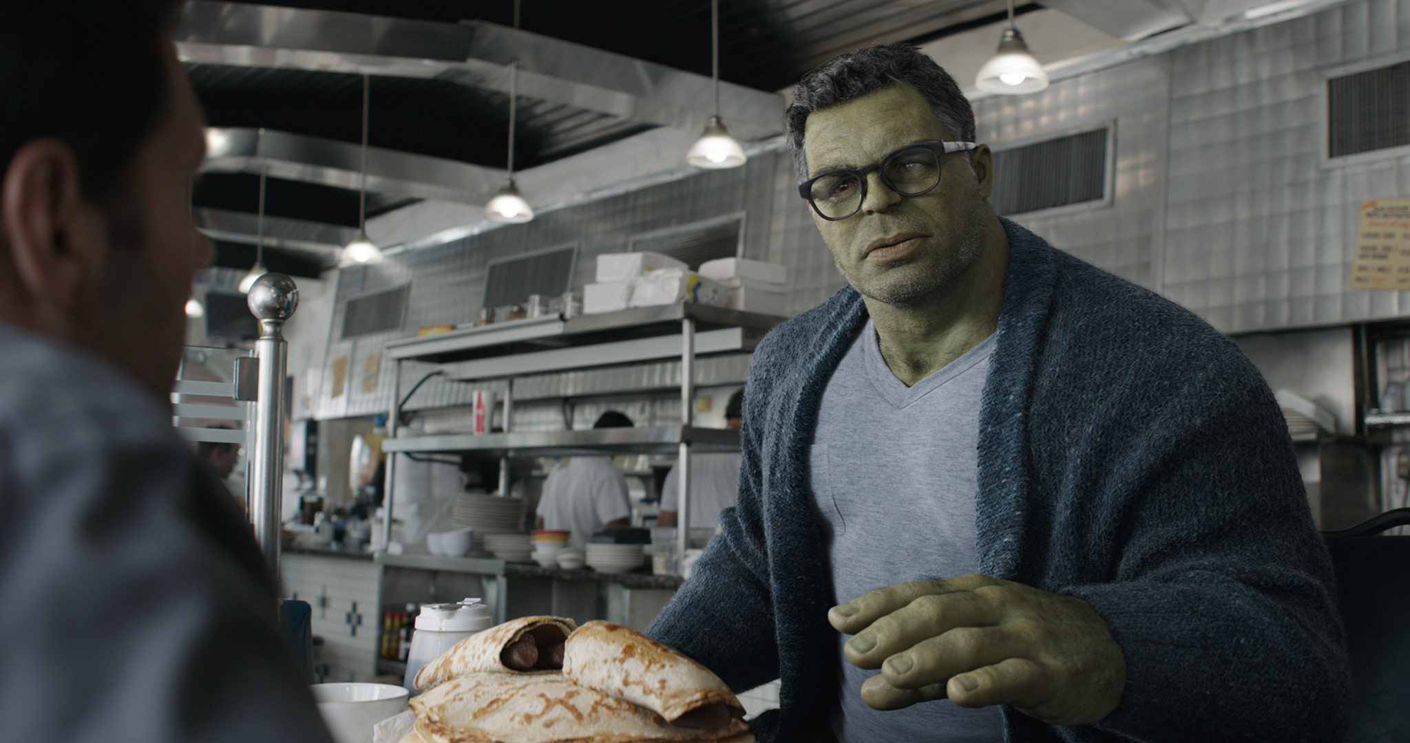 Mark Ruffalo as Hulk in Avengers: Endgame