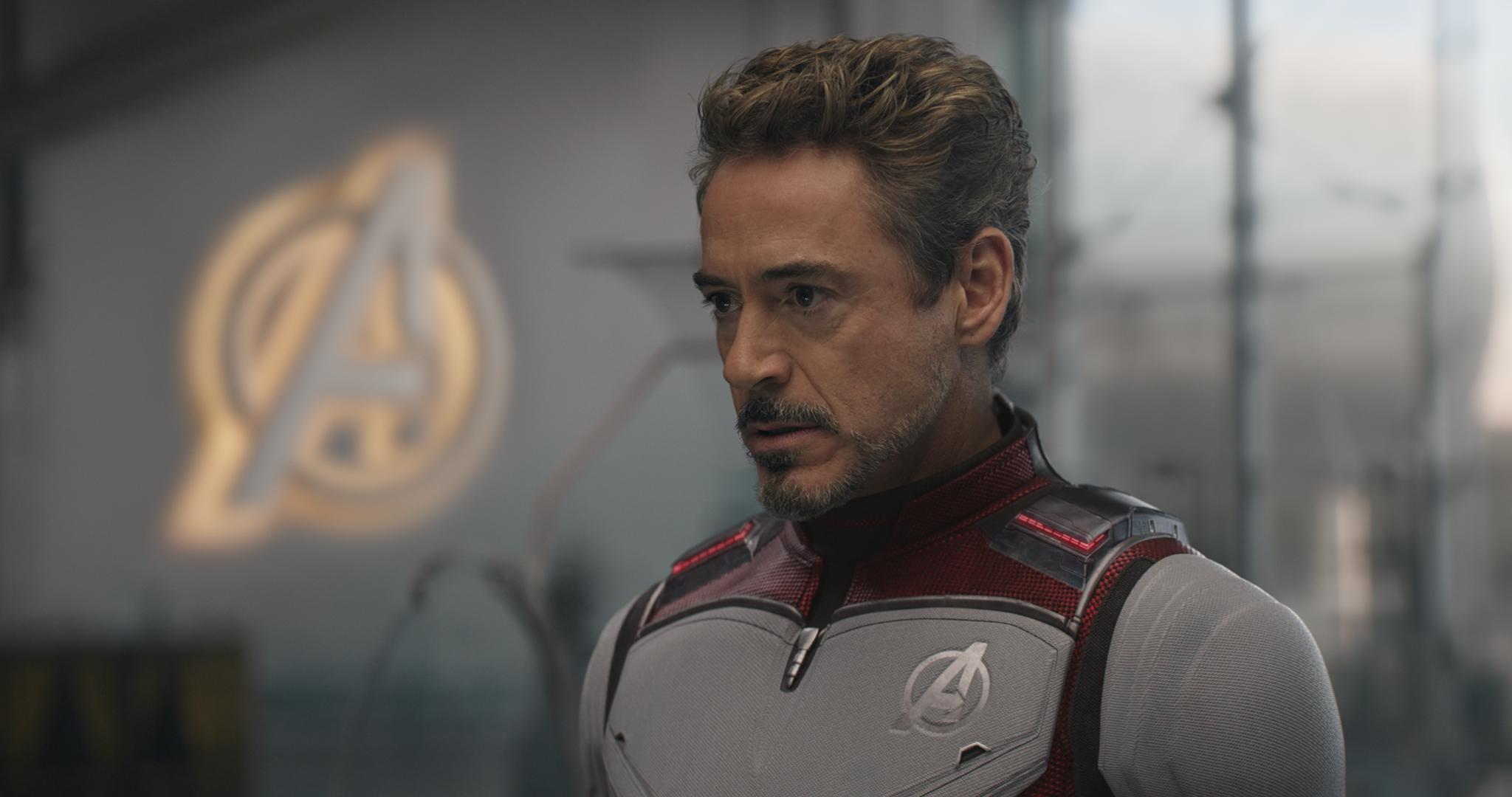 Tony Stark/Iron Man (Robert Downey Jr.) in Avengers: Endgame