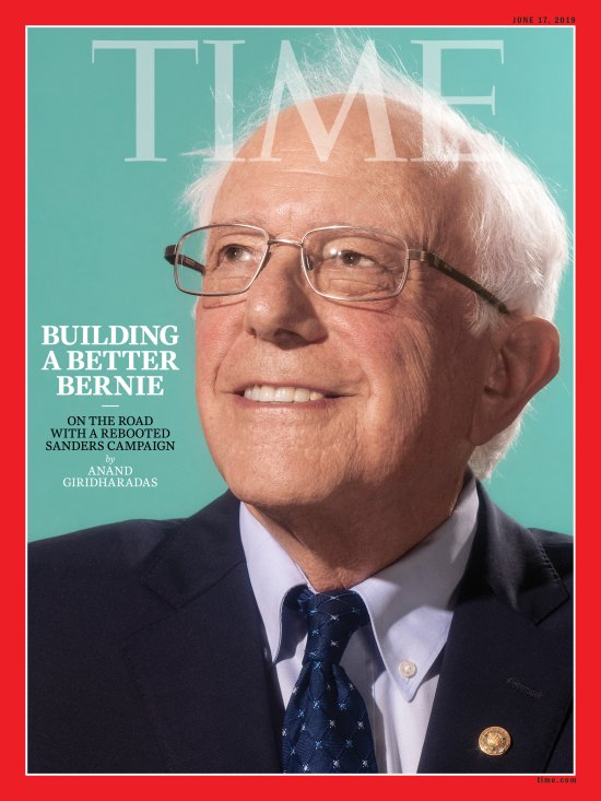 Bernie Sanders Time Magazine Cover