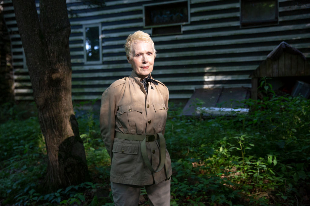 E. Jean Carroll at her home in Warwick, NY on June 21.