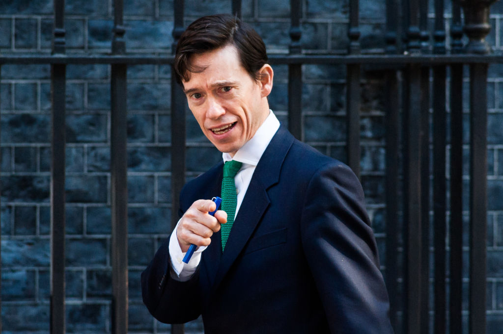 Secretary of State for International Development Rory Stewart arrives for the weekly Cabinet meeting at 10 Downing Street on May 21, 2019 in London, England