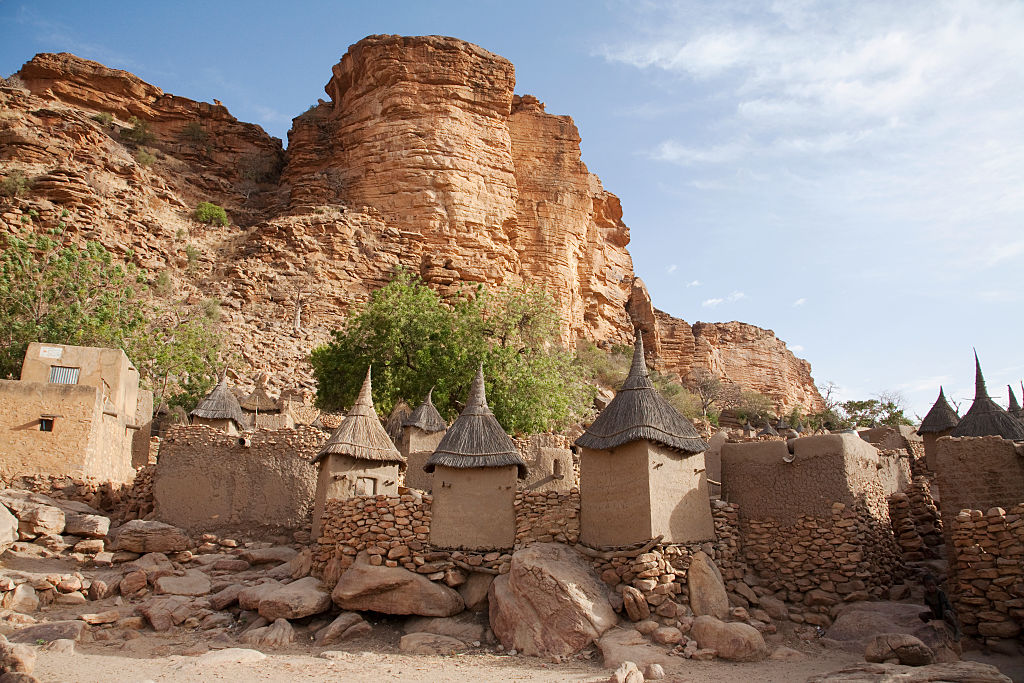 The Bandiagara Escarpment, Mali.