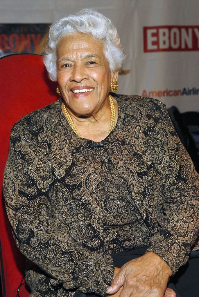 NEW YORK - OCTOBER 23:  Dookey Chase Chef Leah Chase attends the Taste Of Ebony at the Metropolitan Pavilion October 23, 2006 in New York City.