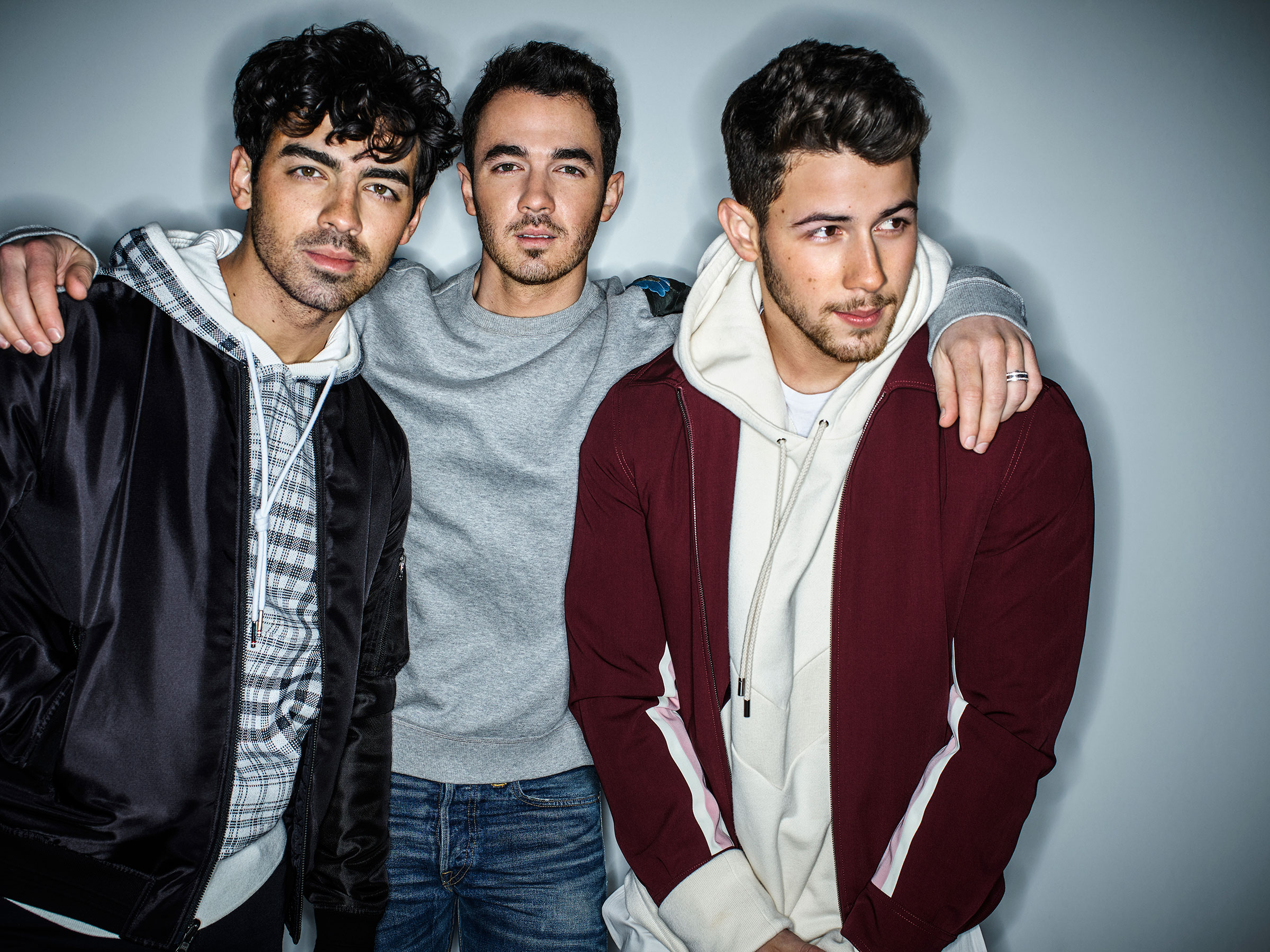 In addition to their new album, Happiness Begins, out June 7, the Jonas Brothers (above, from left, Joe, Kevin and Nick) released a documentary this month and are working on a memoir