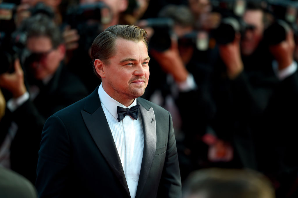 Leonardo DiCaprio attends the screening of  Once Upon A Time In Hollywood  during the 72nd annual Cannes Film Festival on May 21, 2019 in Cannes, France.
