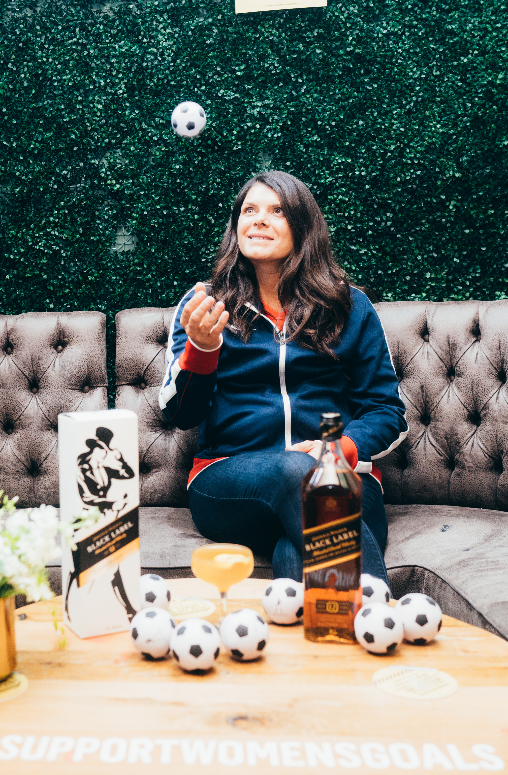 Mia Hamm at the Jane Walker by Johnnie Walker Equalizer Watch Party in NYC supporting equal pay.