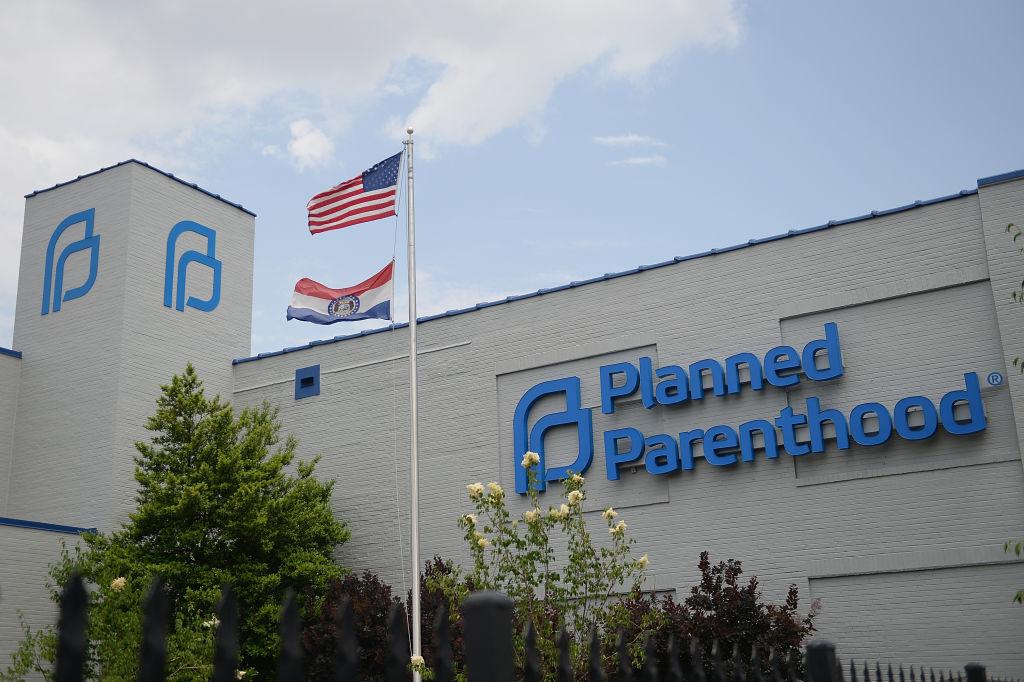 Planned Parenthood Reproductive Health Services Center in St Louis, Missouri.
