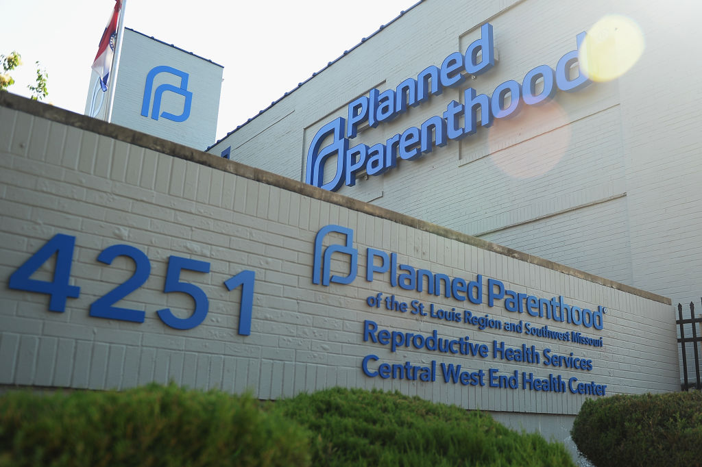 Planned Parenthood Reproductive Health Services Center in St. Louis, Missouri on May 31, 2019.