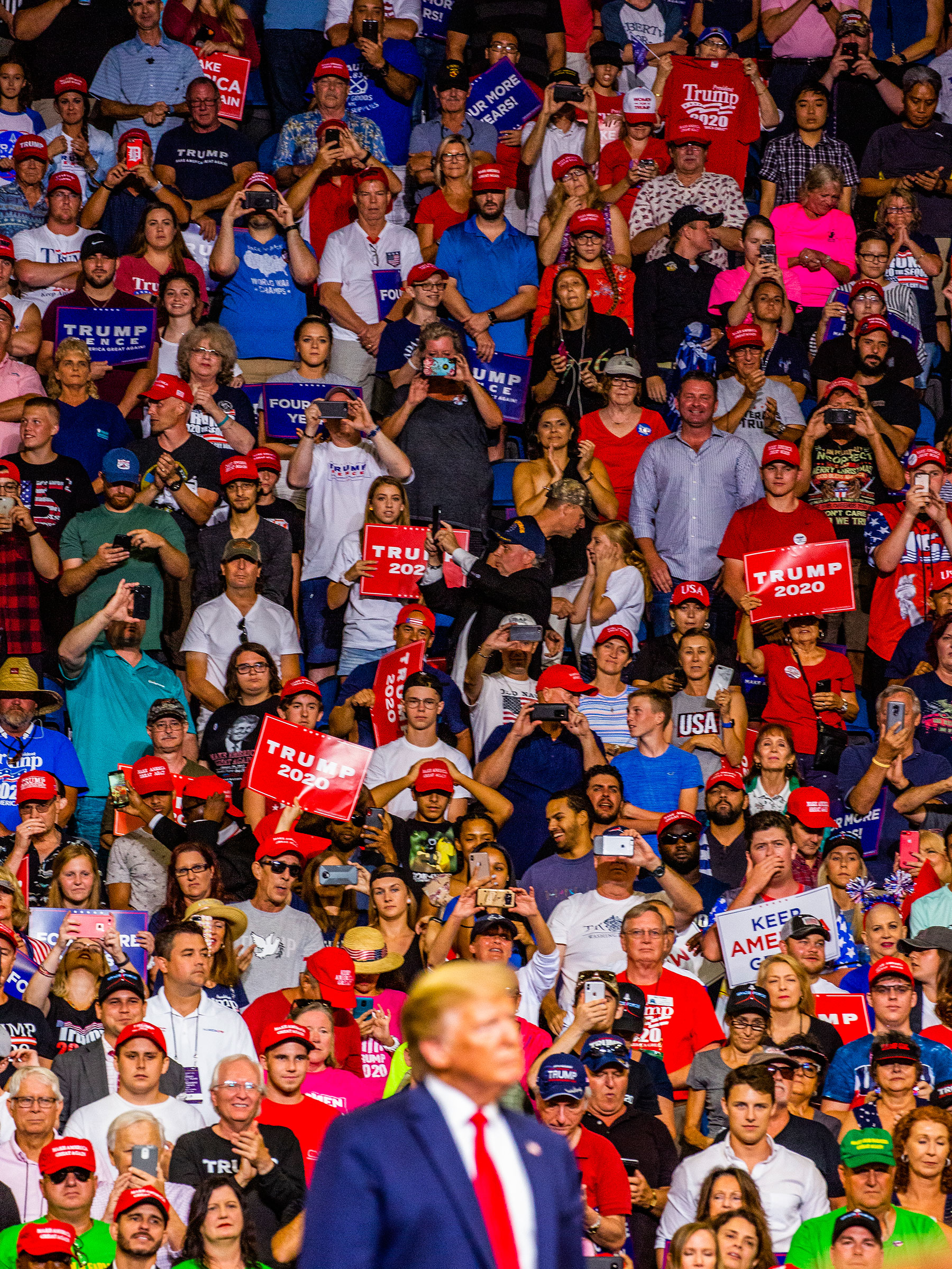 Trump officially kicks off his re-election campaign on June 18 at a rally in Orlando's Amway Center.