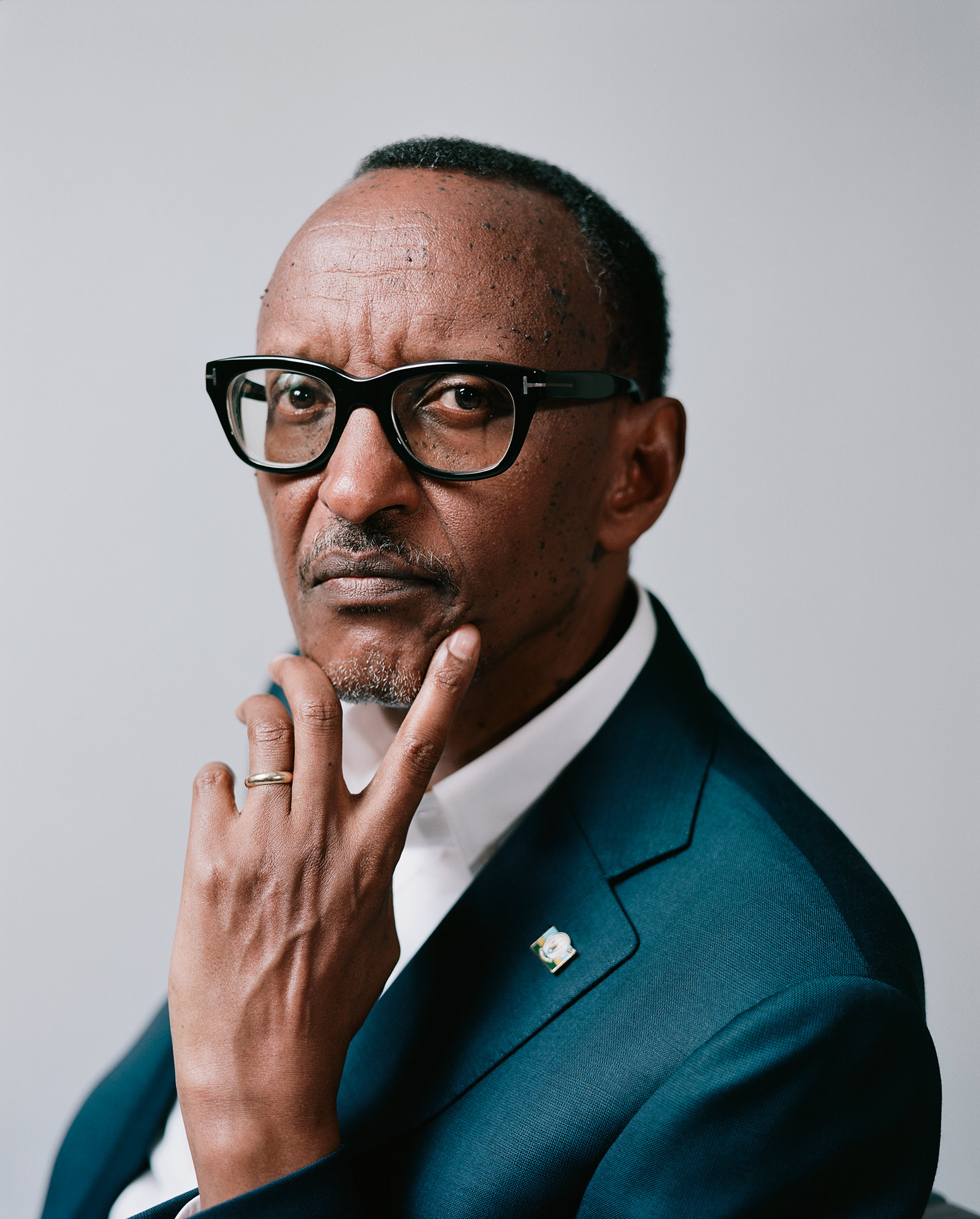 """""""I know what I am doing. I know what is good for me. Idon't need to be told by anybody,"""" says Paul Kagame, President of Rwanda."""