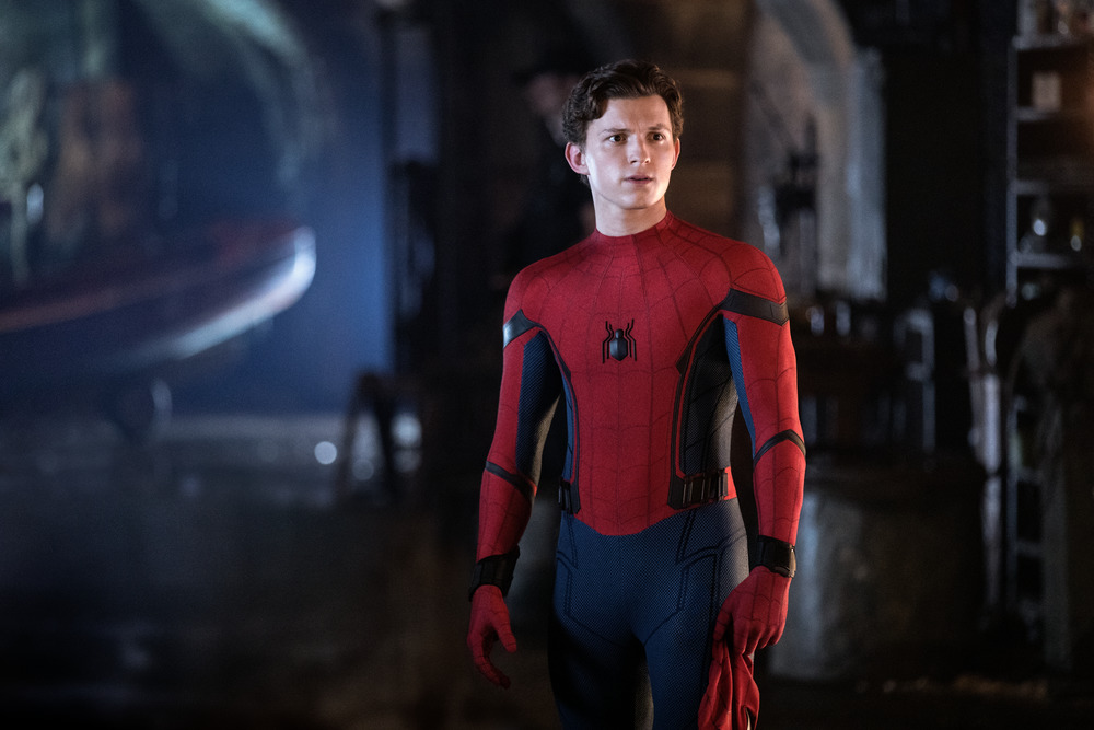 Tom Holland is Spider-Man in Spider-Man: Far From Home