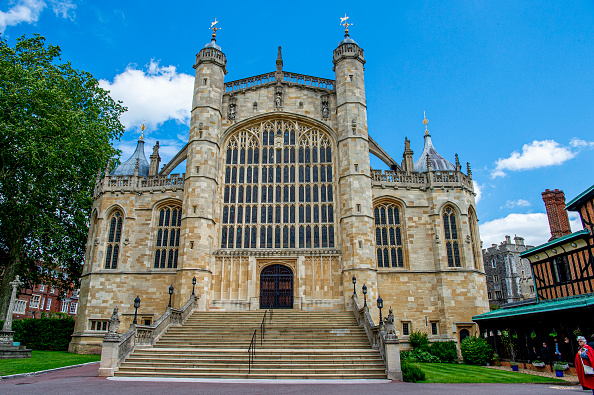 St. George's Chapel in Windsor, England on June 17, 2019.