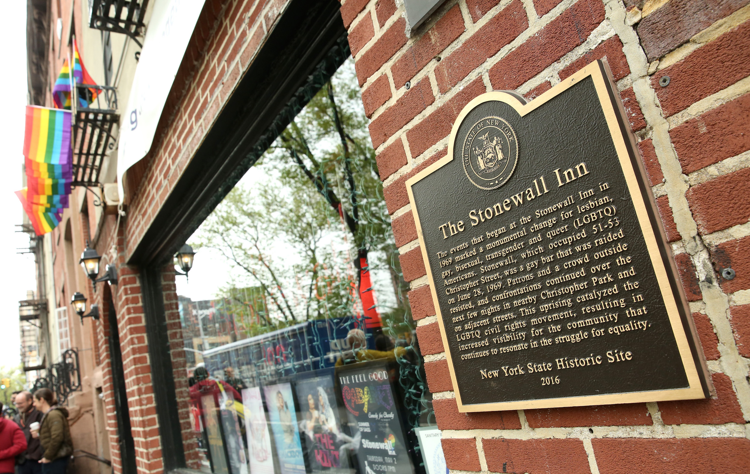 The Stonewall Inn on April 30, 2019 in New York City.