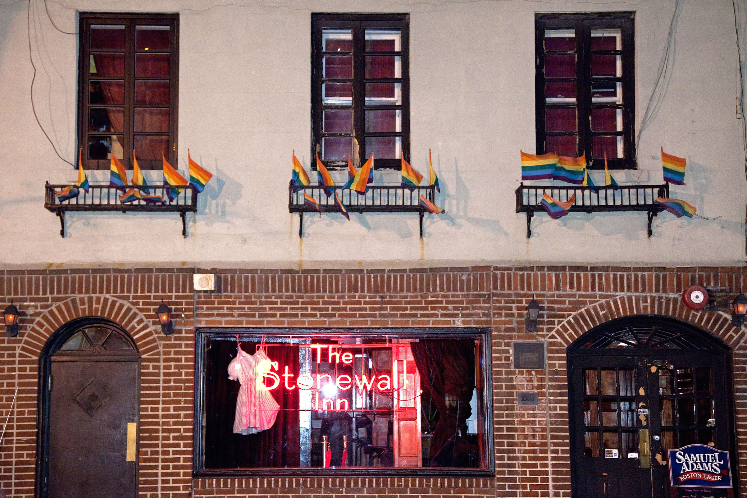 The Stonewall Inn in New York City, seen in 2011.